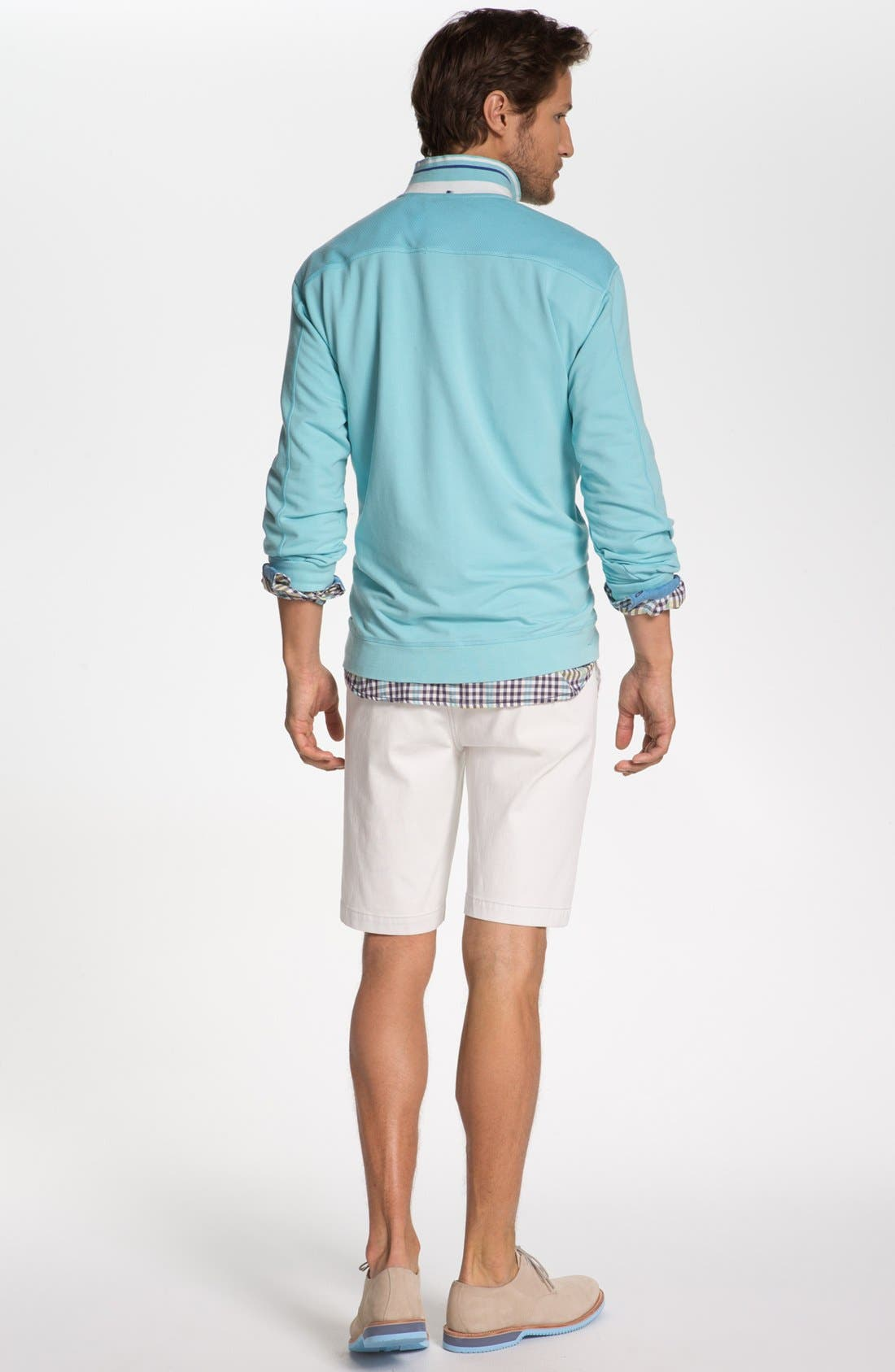 Alternate Image 5  - Tommy Bahama Denim 'Ole Oxford' Regular Fit Sport Shirt