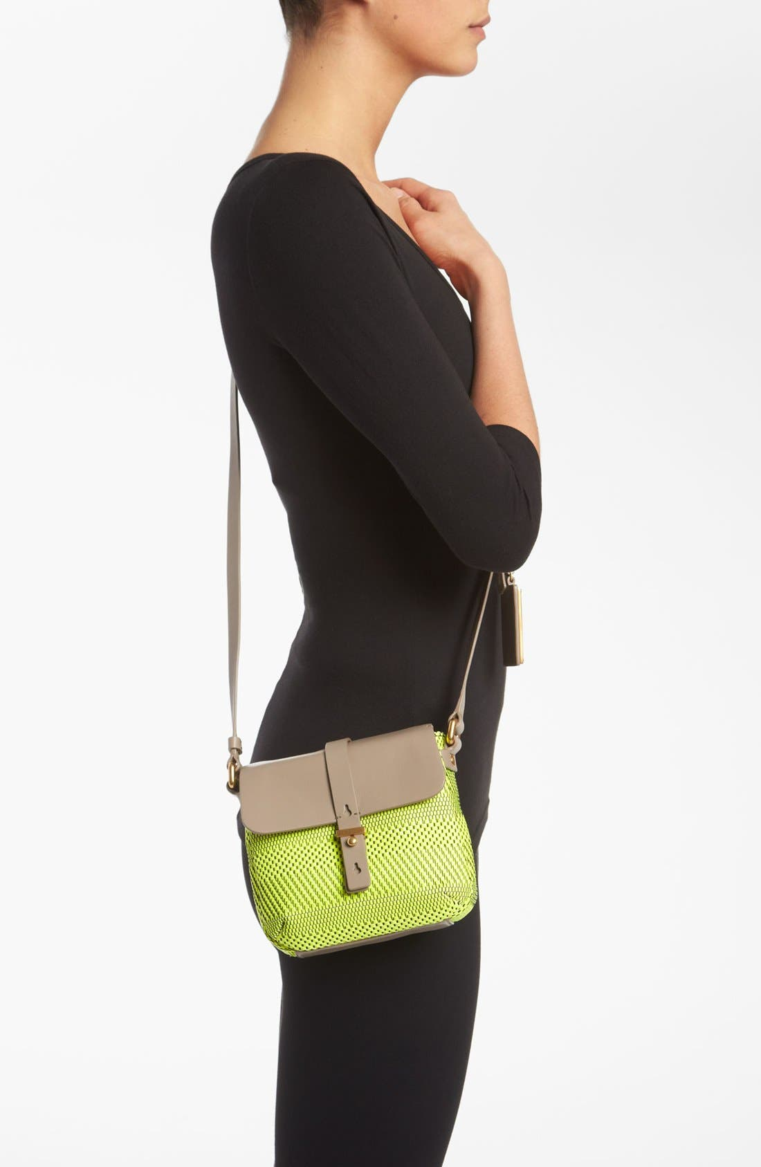 Alternate Image 2  - MARC BY MARC JACOBS 'Werdie Weavy - Isabella' Faux Leather Crossbody Bag
