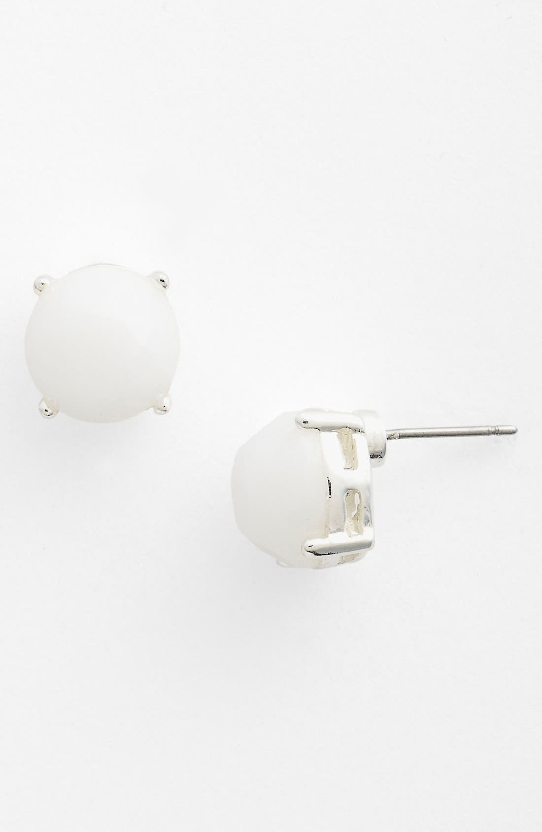 Alternate Image 1 Selected - Anne Klein Button Stud Earrings