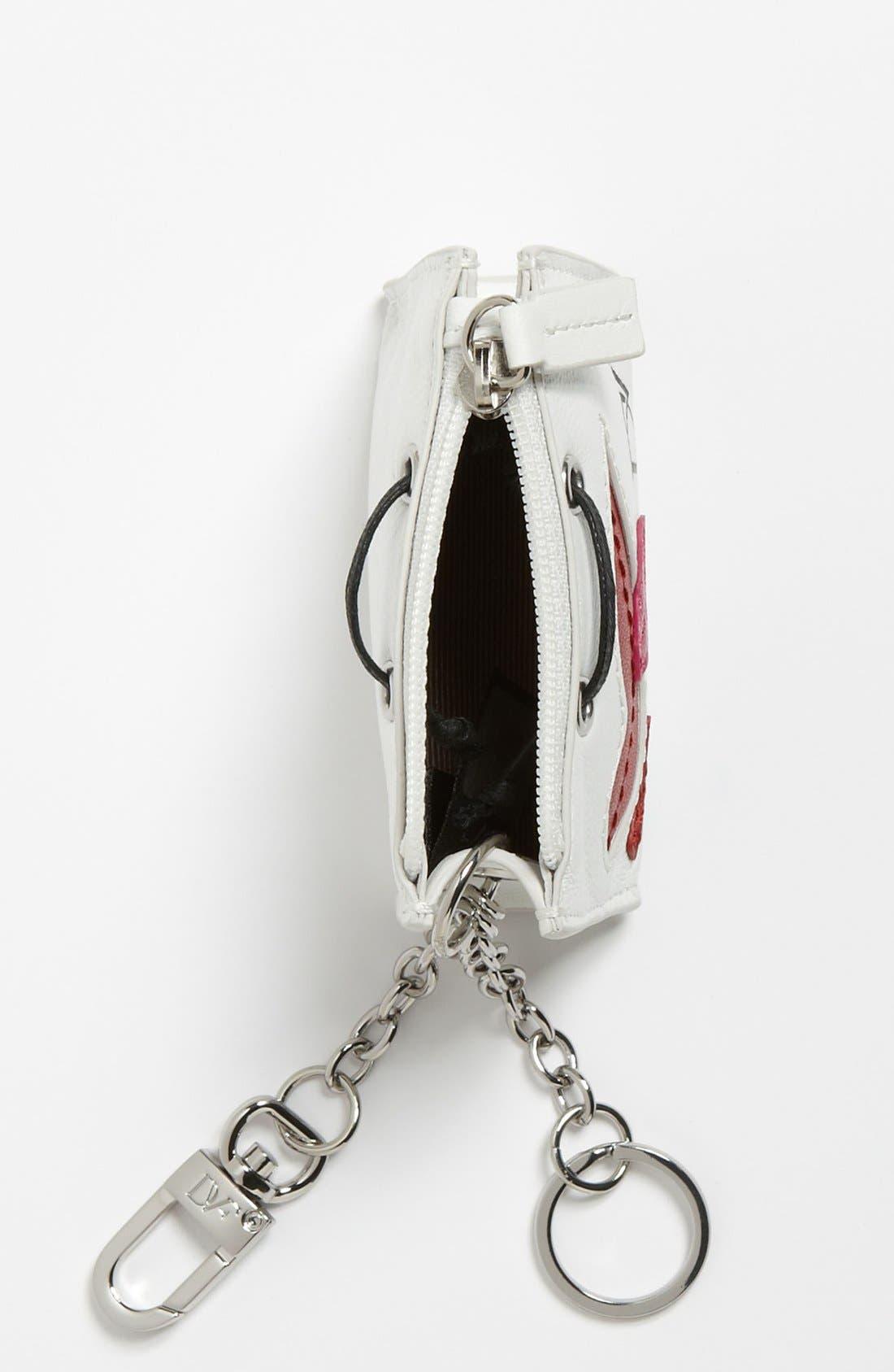 Alternate Image 2  - Diane von Furstenberg Shopping Bag Key Fob