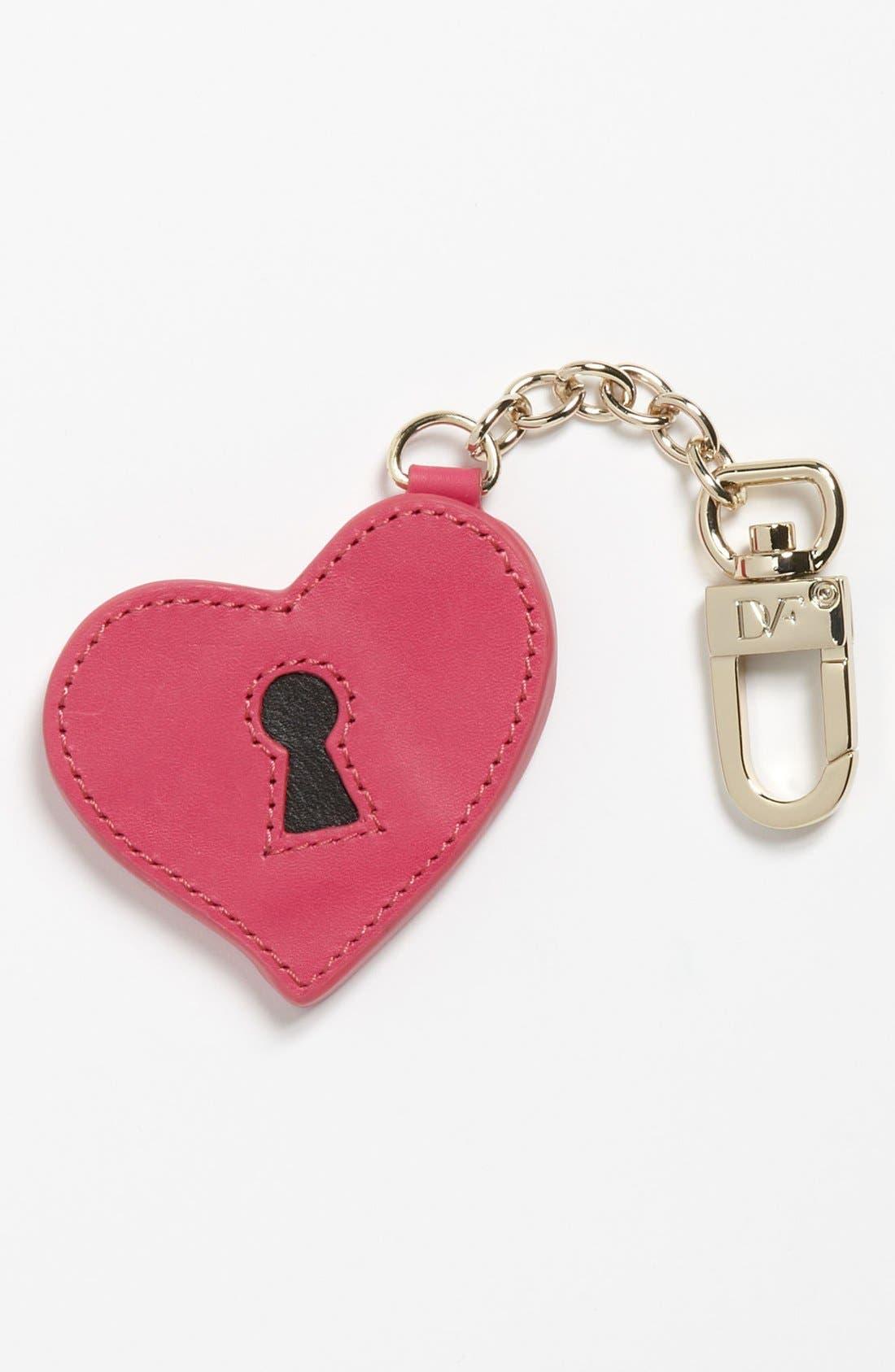 Main Image - Diane von Furstenberg 'Heart' Key Ring
