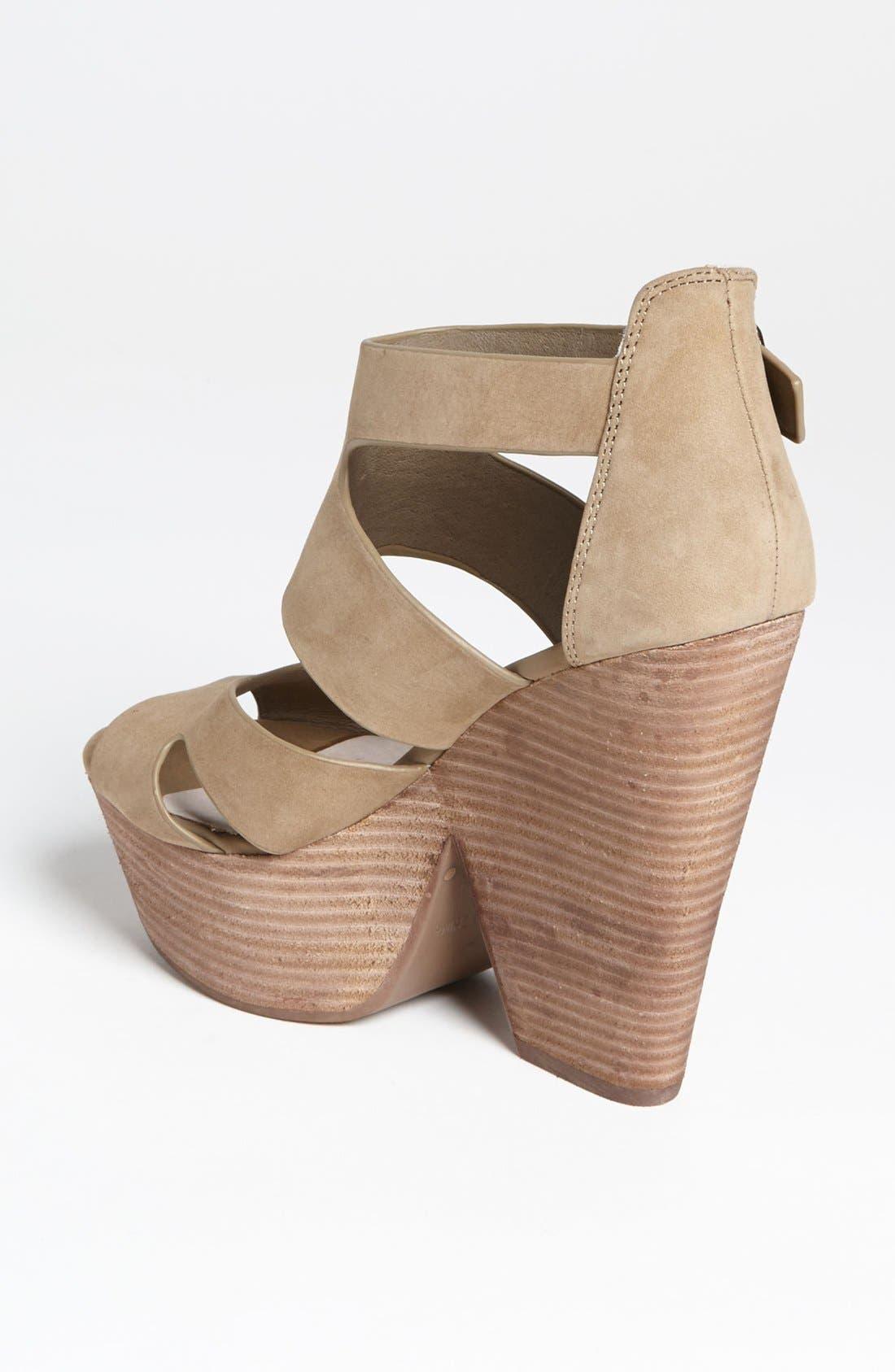 Alternate Image 2  - Topshop 'Lanie' High Vamp Cutout Sandal