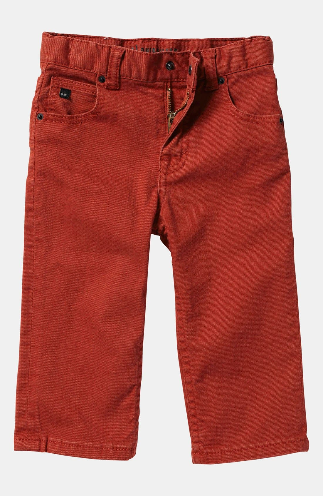 Alternate Image 2  - Quiksilver 'Distortion' Slim Straight Leg Jeans (Toddler)
