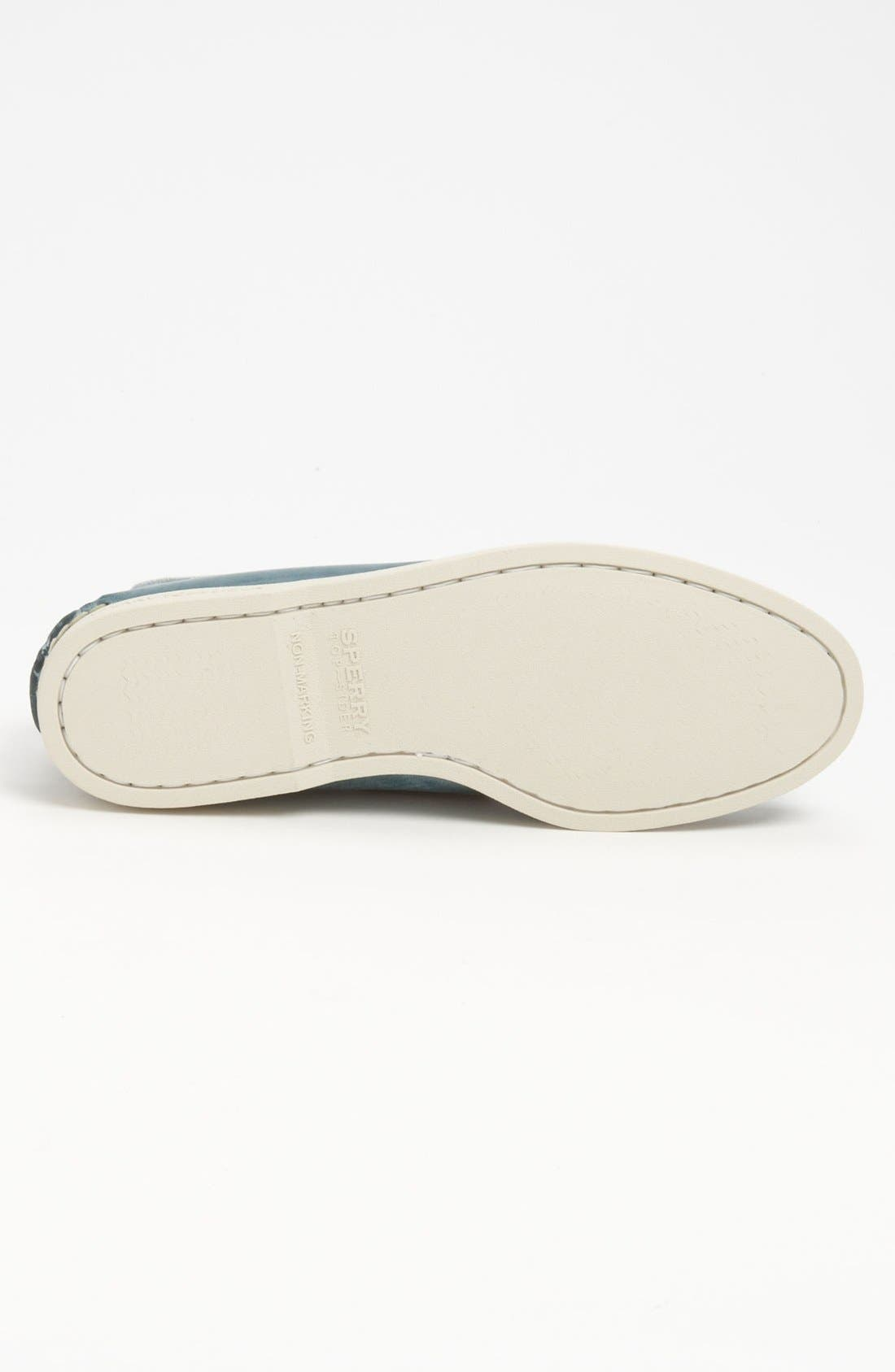 Alternate Image 4  - Sperry Top-Sider® 'Authentic Original - White Wash' Boat Shoe (Men)