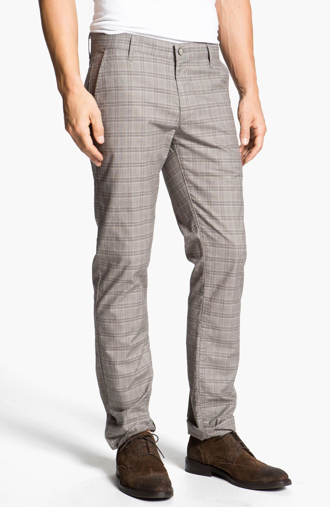 Alternate Image 1 Selected - AG Jeans 'Harbour' Slim Fit Trousers