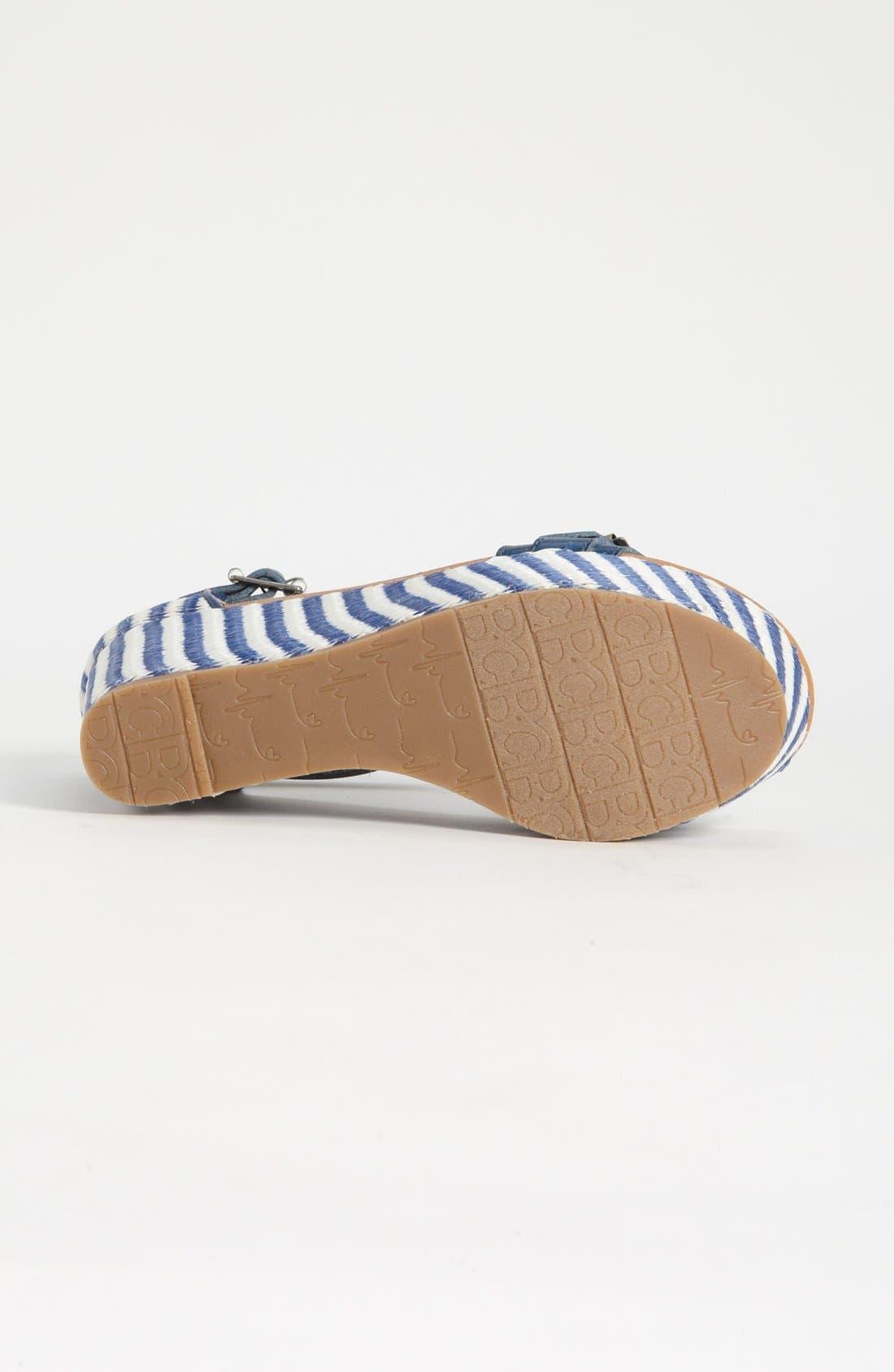 Alternate Image 4  - BC Footwear 'Salt & Pepper' Wedge Sandal