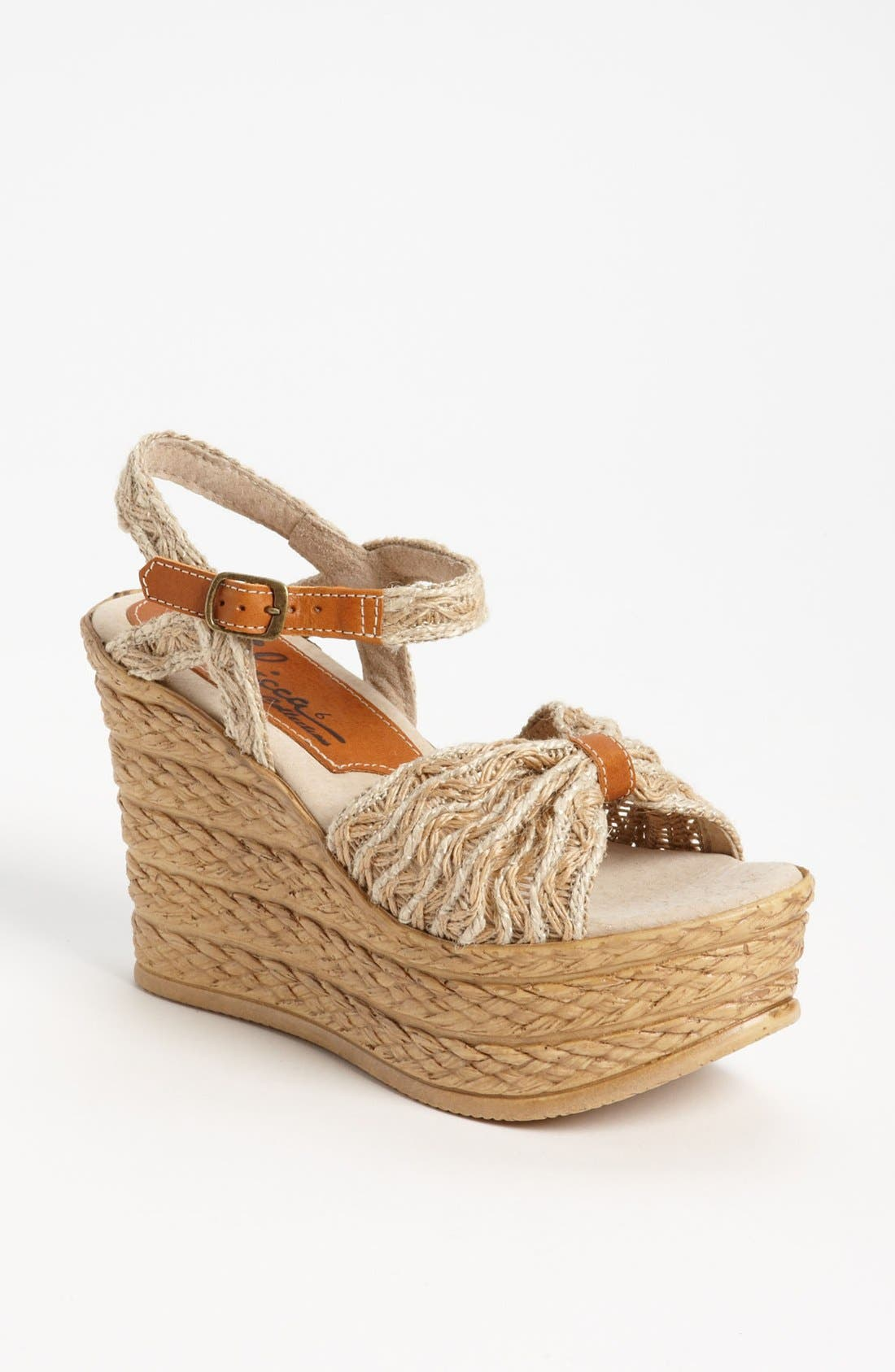 Alternate Image 1 Selected - Sbicca 'Whimsical' Wedge Sandal