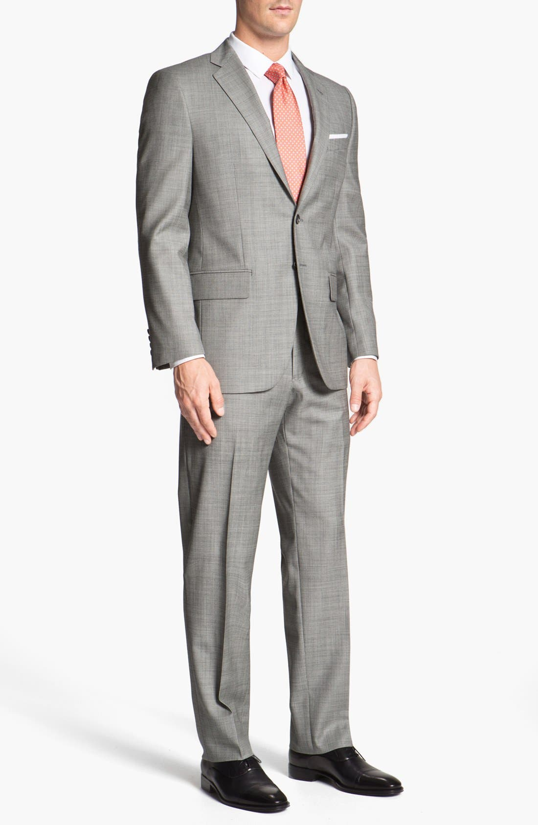 Alternate Image 2  - Joseph Abboud 'Profile' Trim Fit Wool Suit (Online Only)