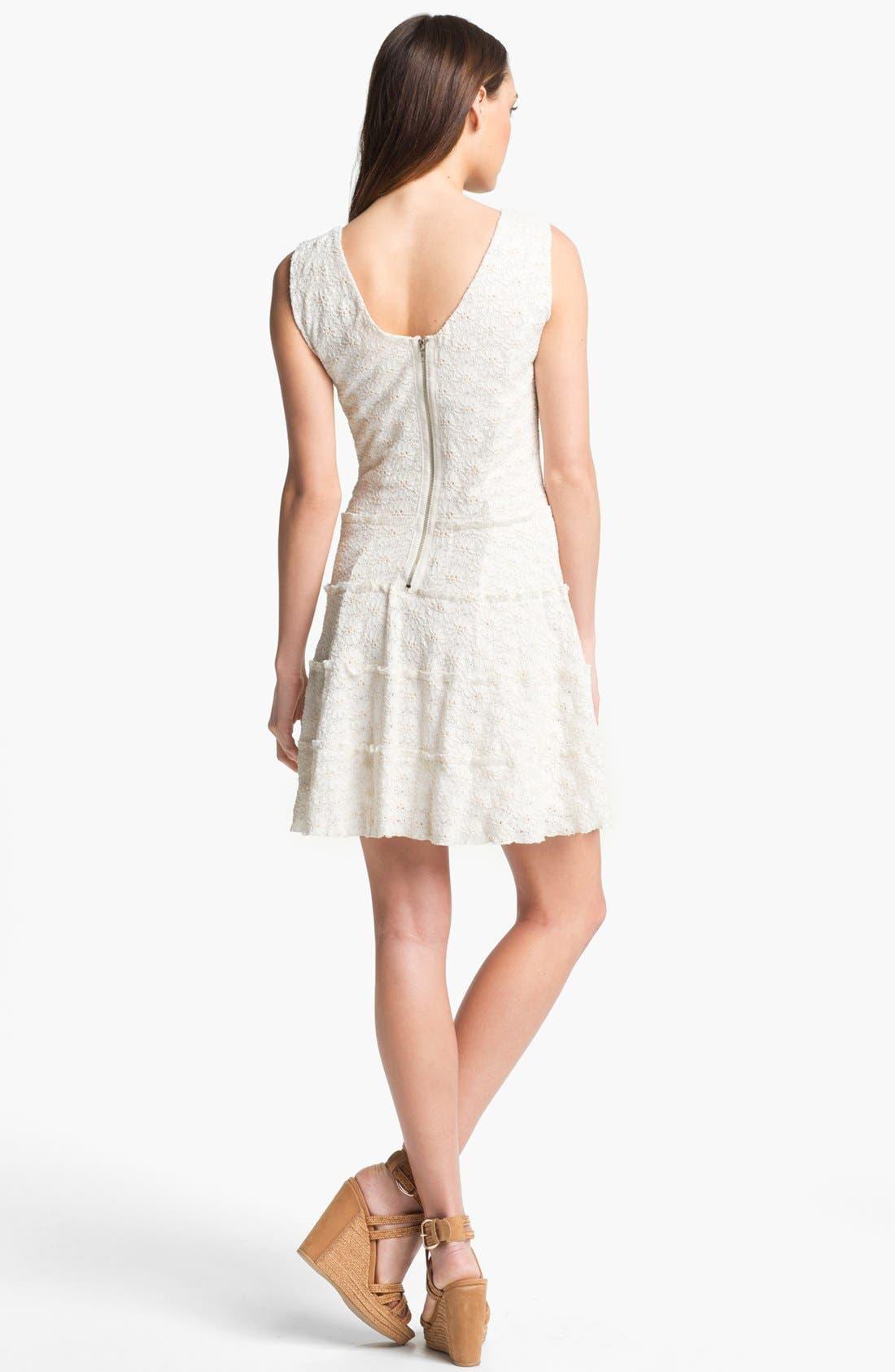 Alternate Image 2  - LABEL by five twelve Lace Drop Waist Dress