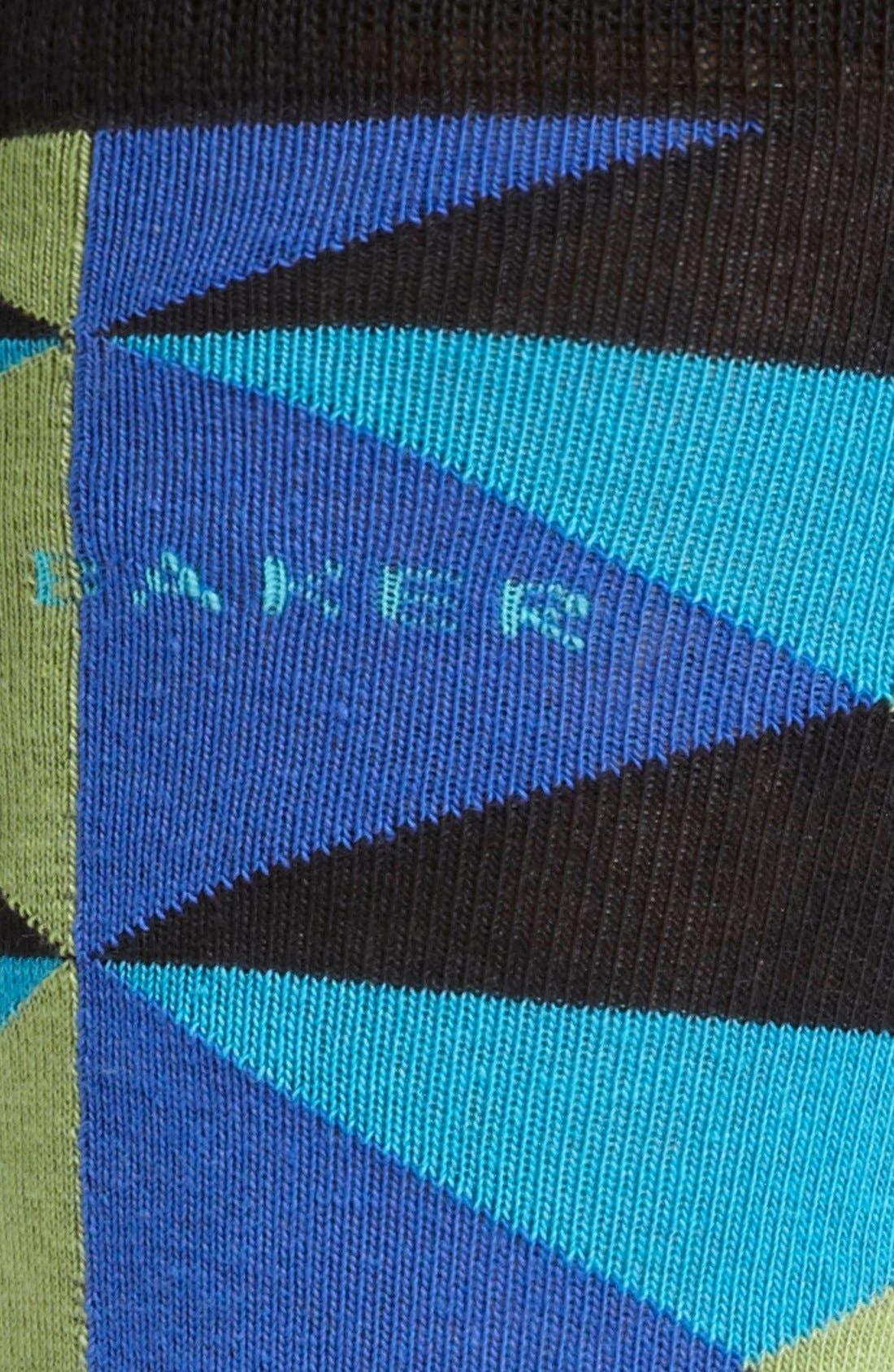 Alternate Image 2  - Ted Baker London Diamond Pattern Socks
