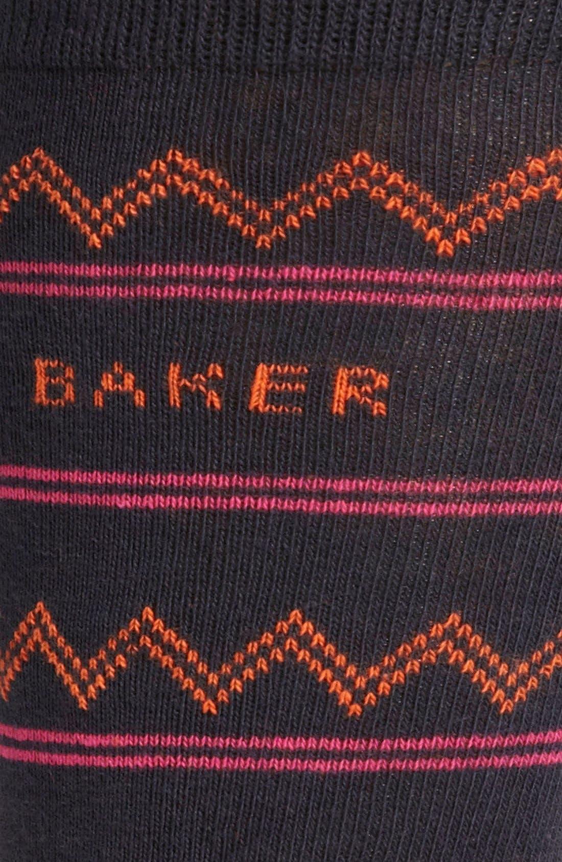 Alternate Image 2  - Ted Baker London Zigzag Socks