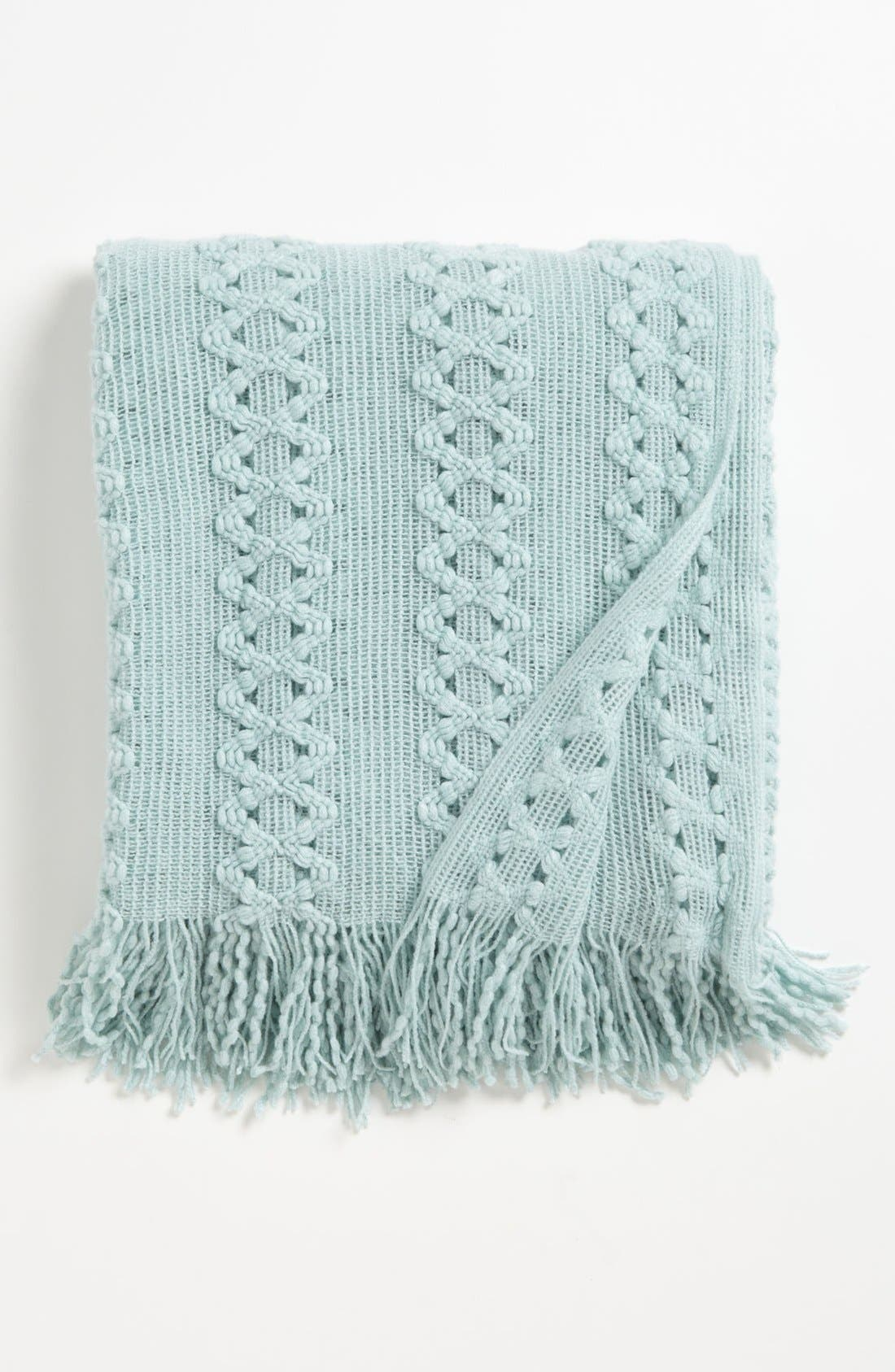 Alternate Image 1 Selected - Kennebunk Home Braided Throw