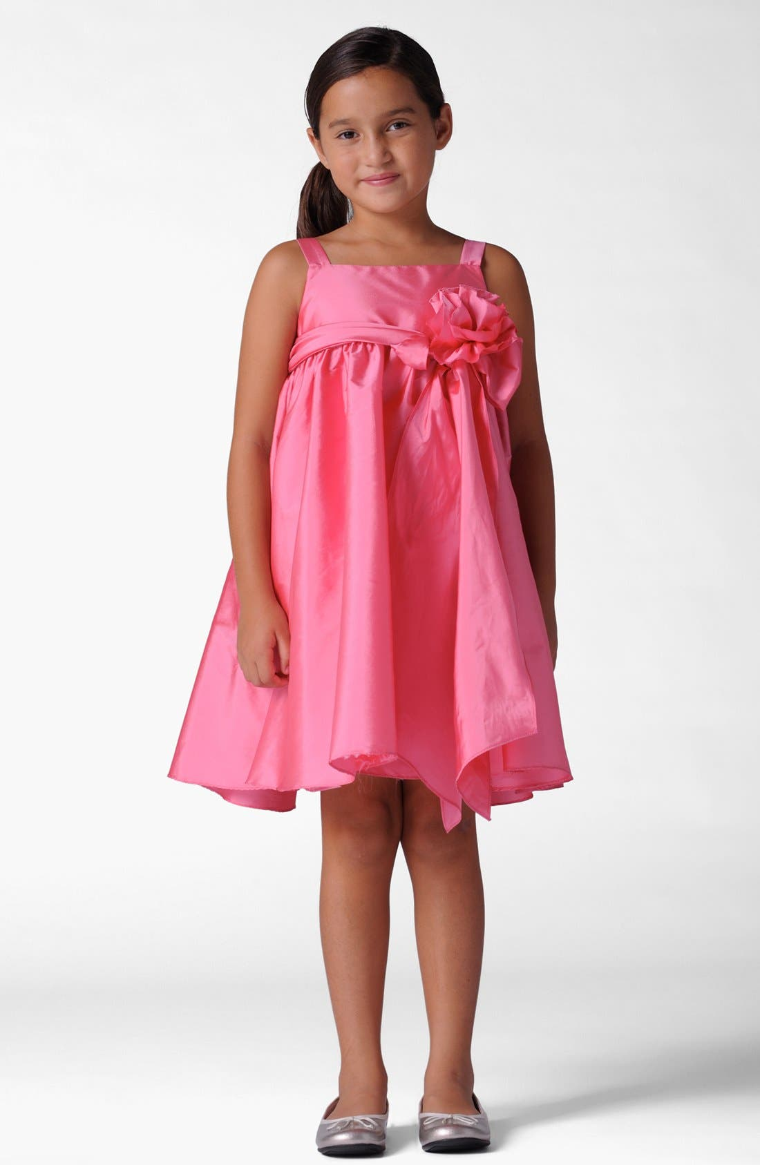 Main Image - Us Angels Empire Waist Dress (Little Girls & Big Girls)