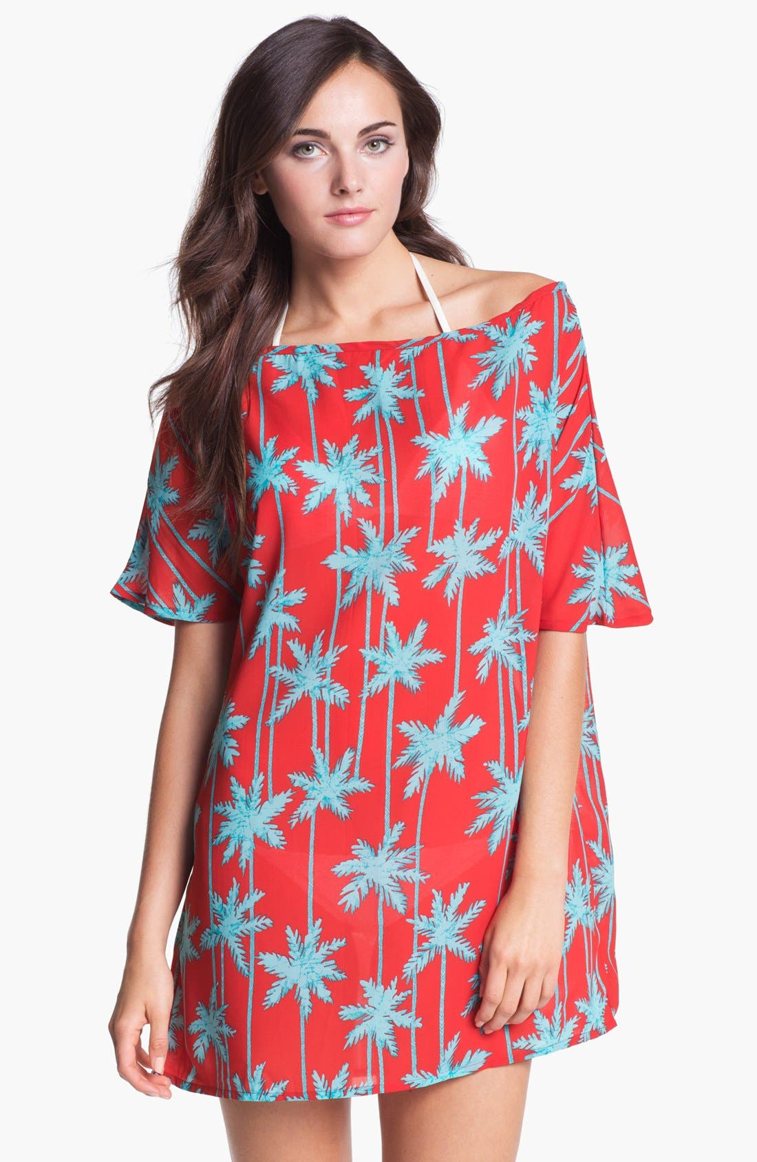 Alternate Image 1 Selected - Freya 'South Pacific' Tunic Cover-Up