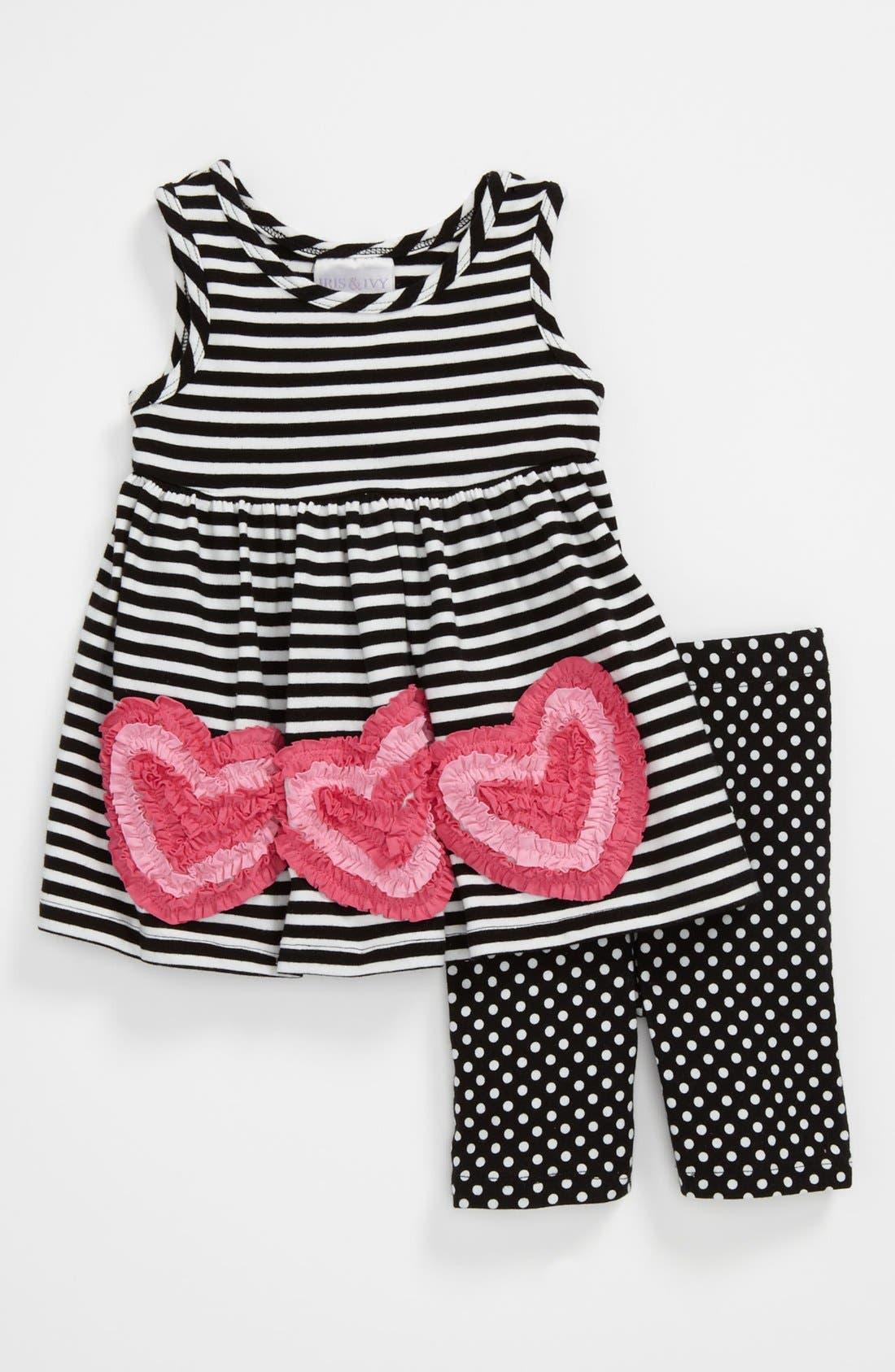Main Image - Iris & Ivy Dress & Leggings (Baby)