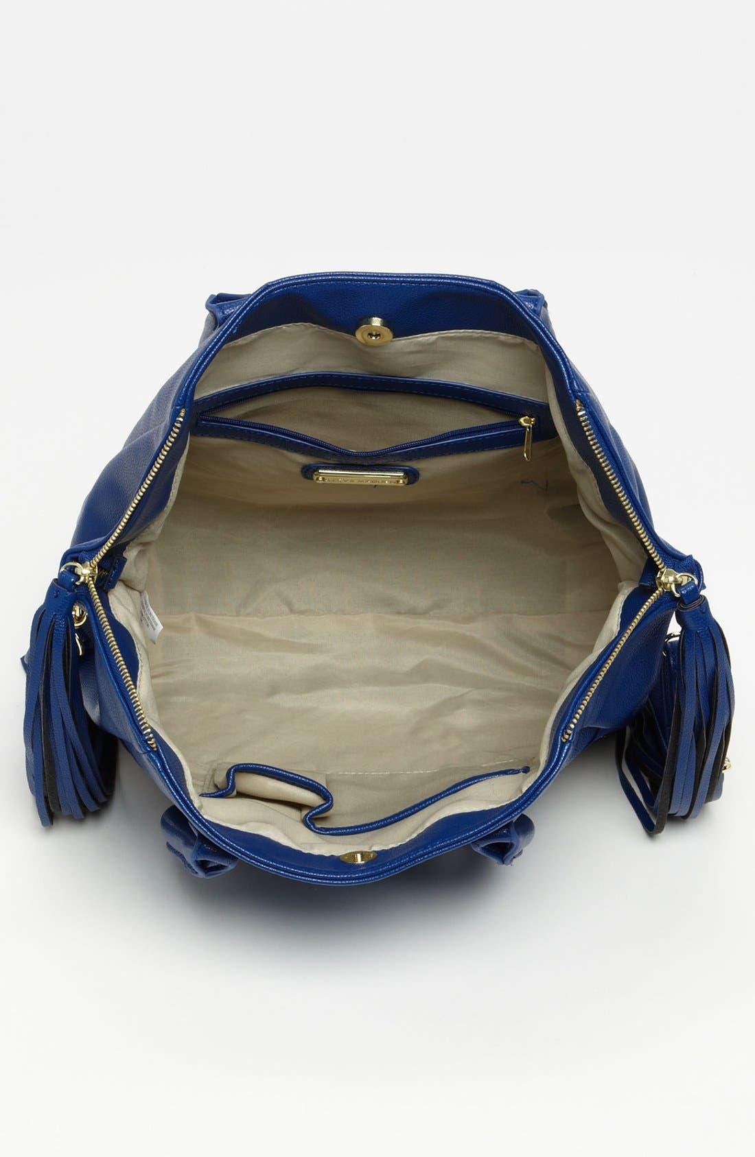Alternate Image 3  - Steve Madden Studded Faux Leather Satchel, Large