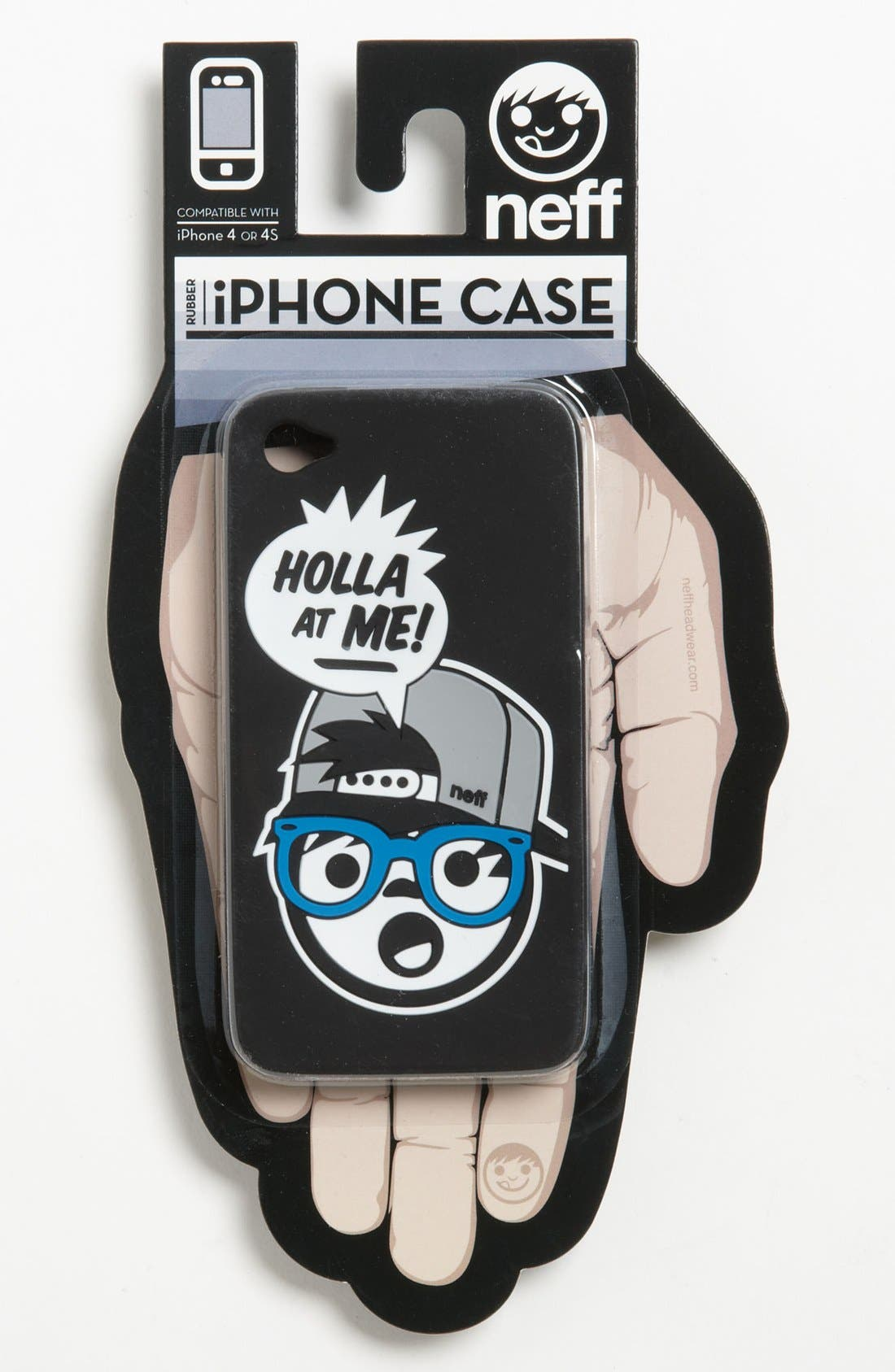 Alternate Image 1 Selected - Neff 'Holla' iPhone 4 Case