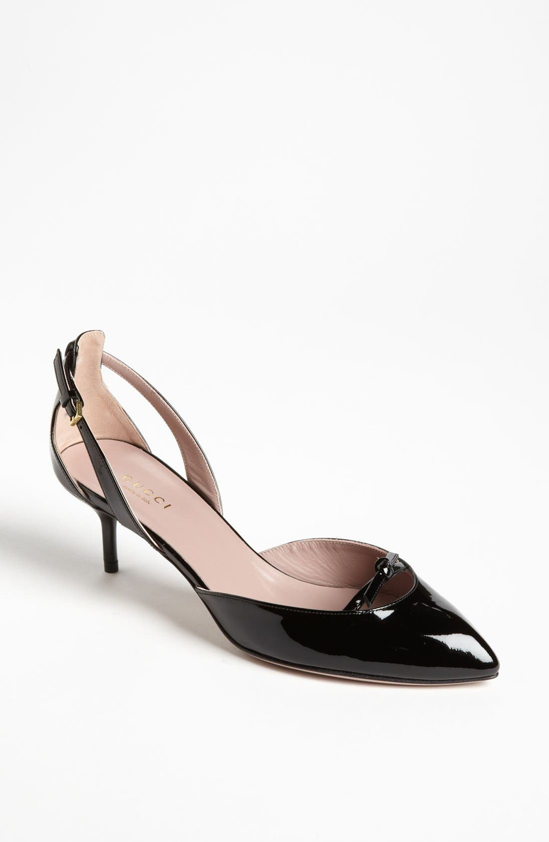 Alternate Image 1 Selected - Gucci 'Beverly' d'Orsay Pump