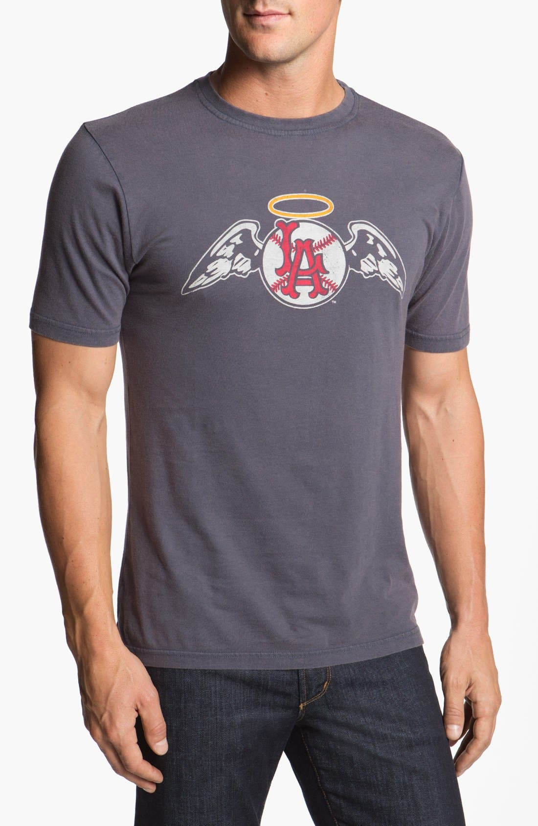 Red Jacket 'Los Angeles Angels' Trim Fit T-Shirt (Men)