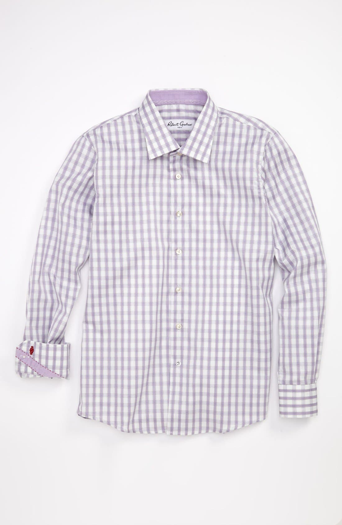 Main Image - Robert Graham Dress Shirt (Big Boys)