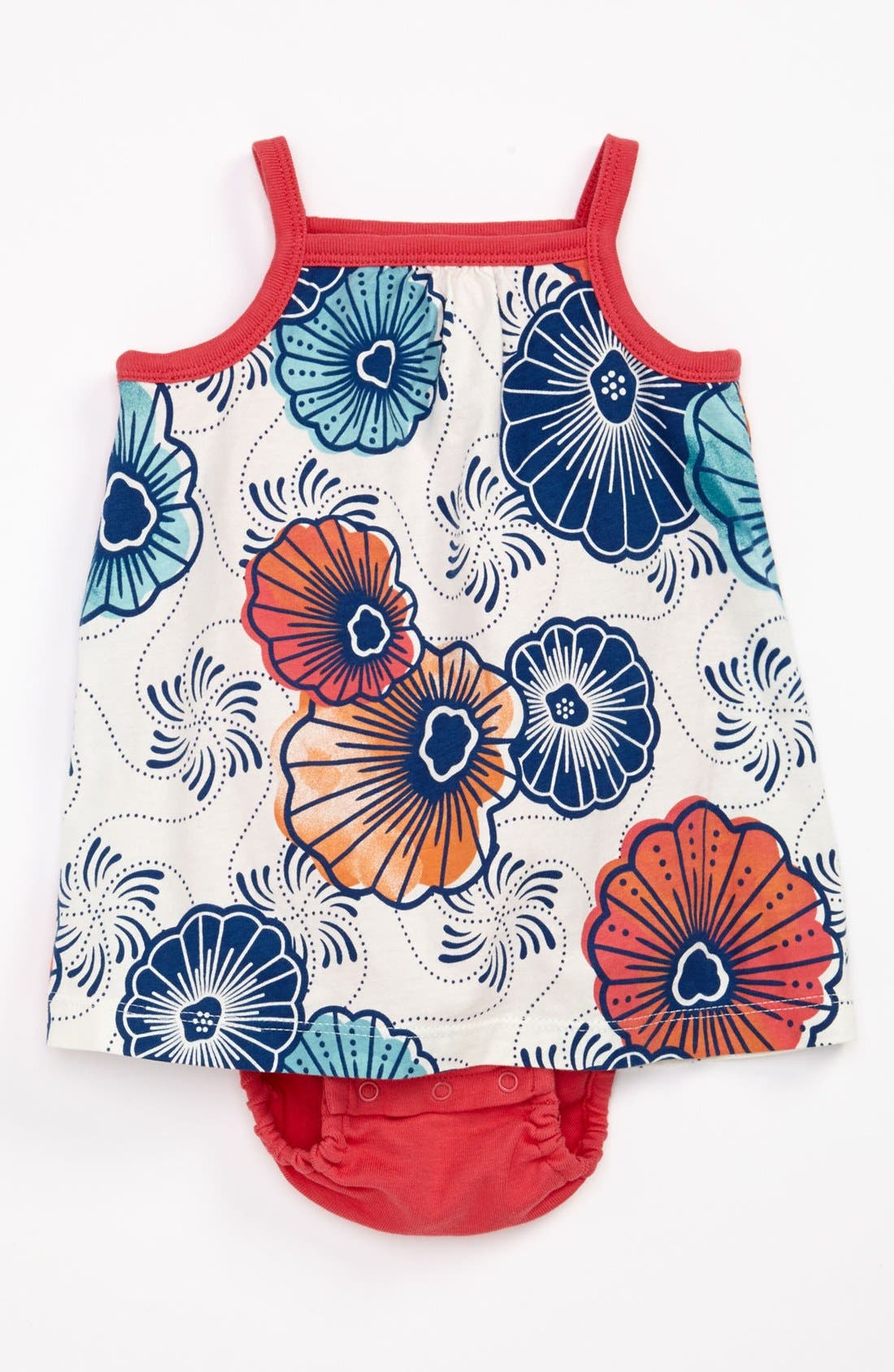 Alternate Image 1 Selected - Tea Collection 'Cape Lily' Dress & Bloomers (Baby)