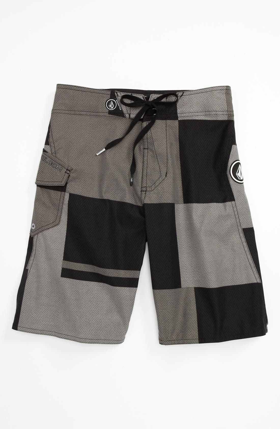 Main Image - Volcom 'Maguro' Colorblocked Board Shorts (Big Boys)