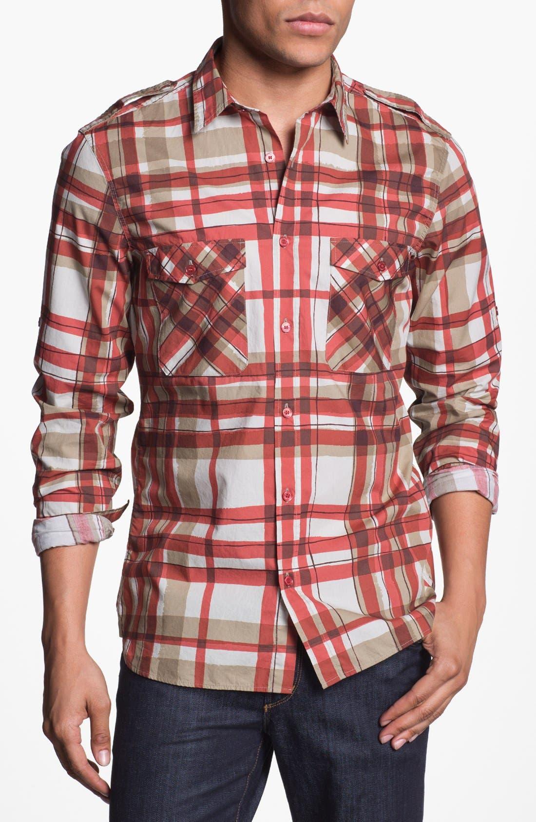 Main Image - Burberry Brit 'Rainton' Trim Fit Sport Shirt