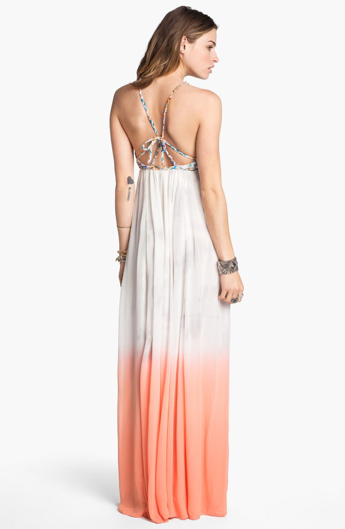 Alternate Image 2  - Free People 'Snake Goddess' Maxi Dress