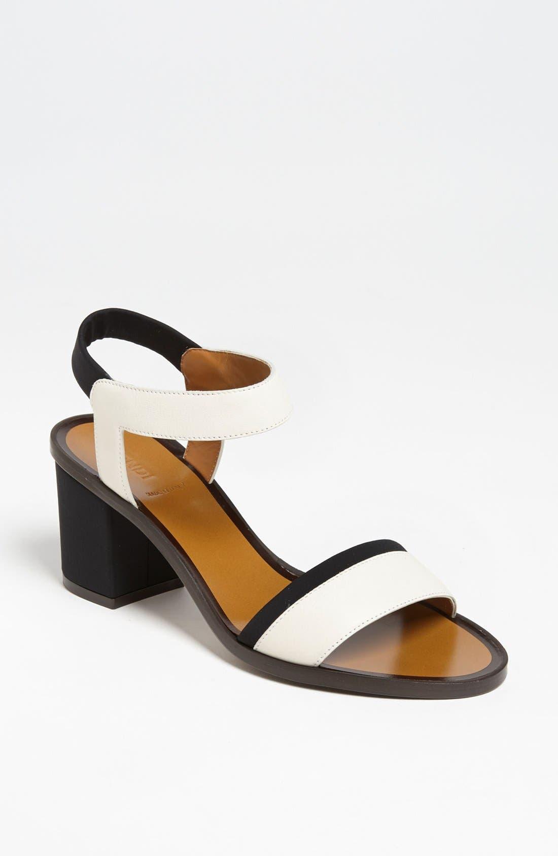 Alternate Image 1 Selected - Fendi Sandal