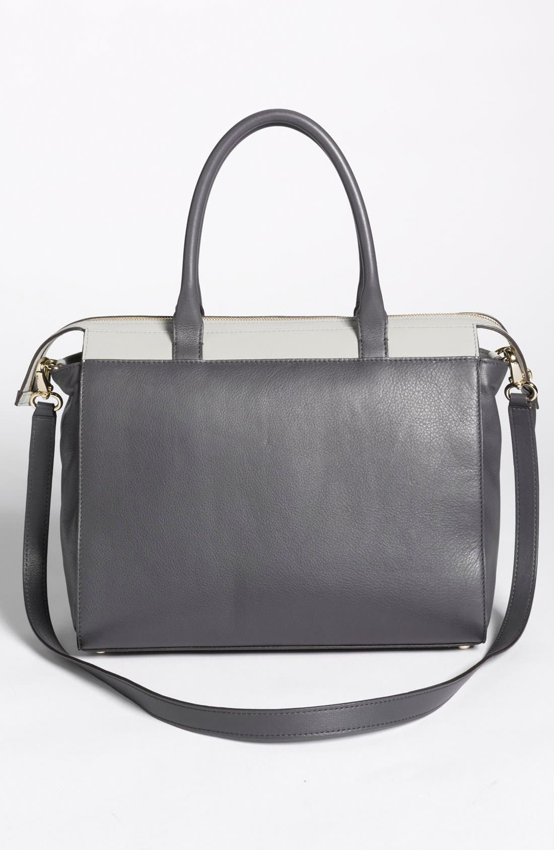 Alternate Image 4  - kate spade new york 'hancock park - jeanne' leather satchel, medium