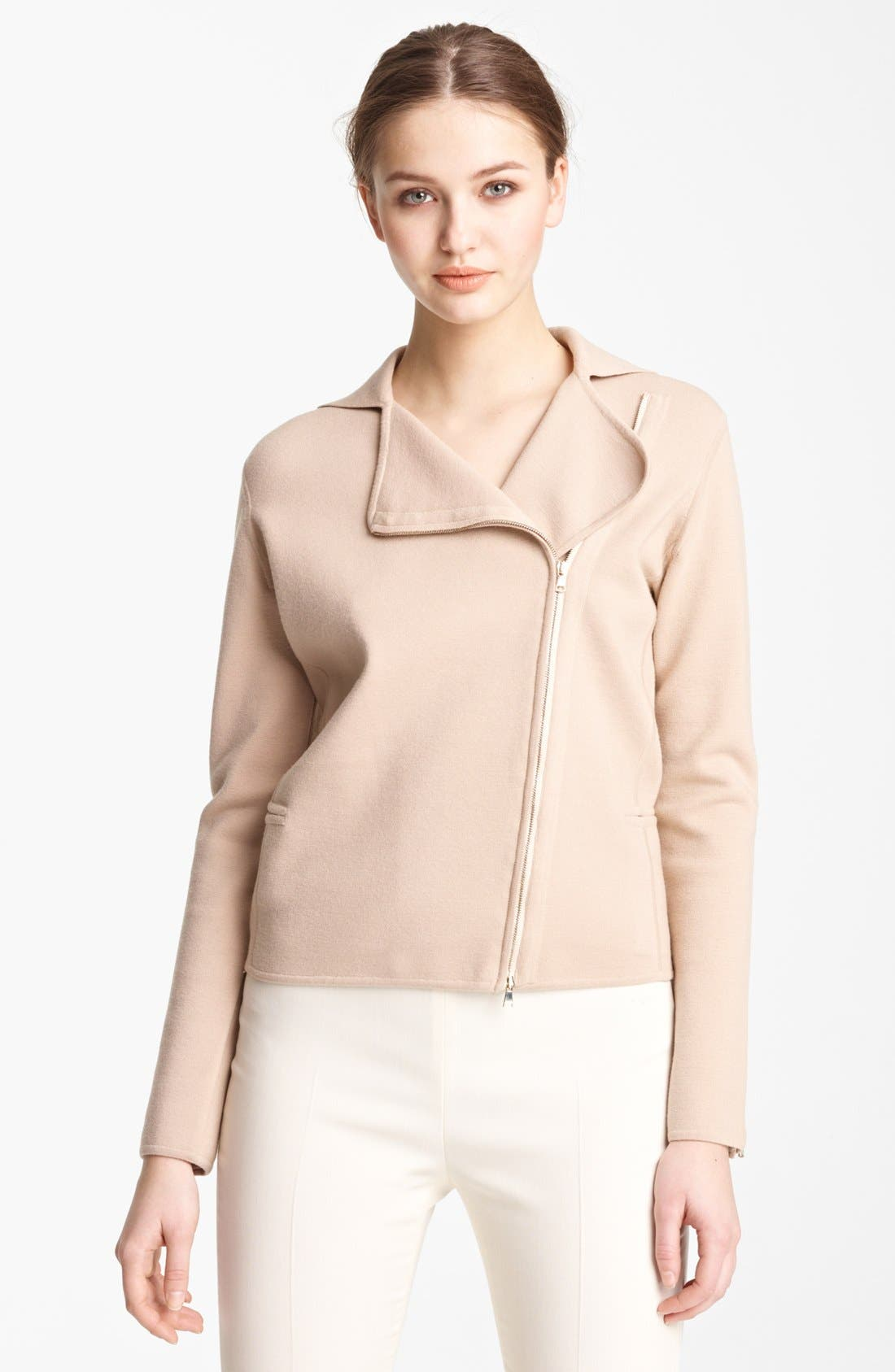 Alternate Image 1 Selected - Max Mara 'Bamby' Ribbed Wool Jacket