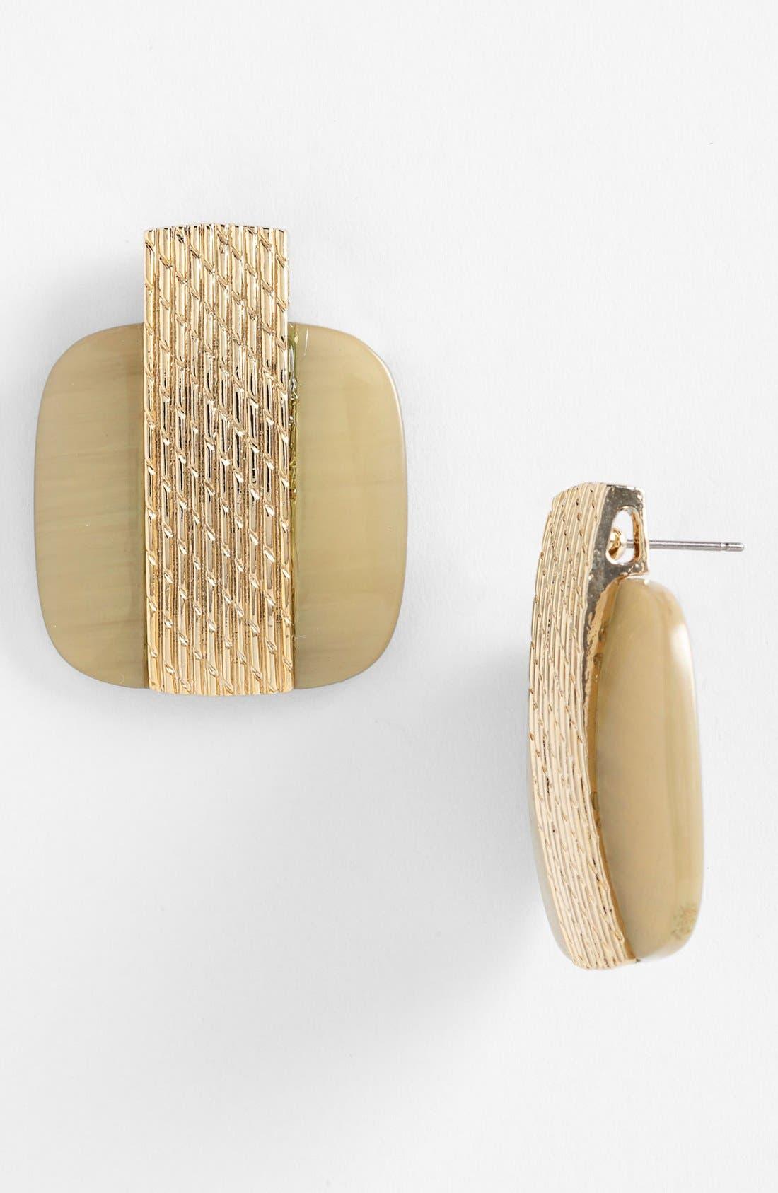 Main Image - Natasha Couture Vintage Post Earrings