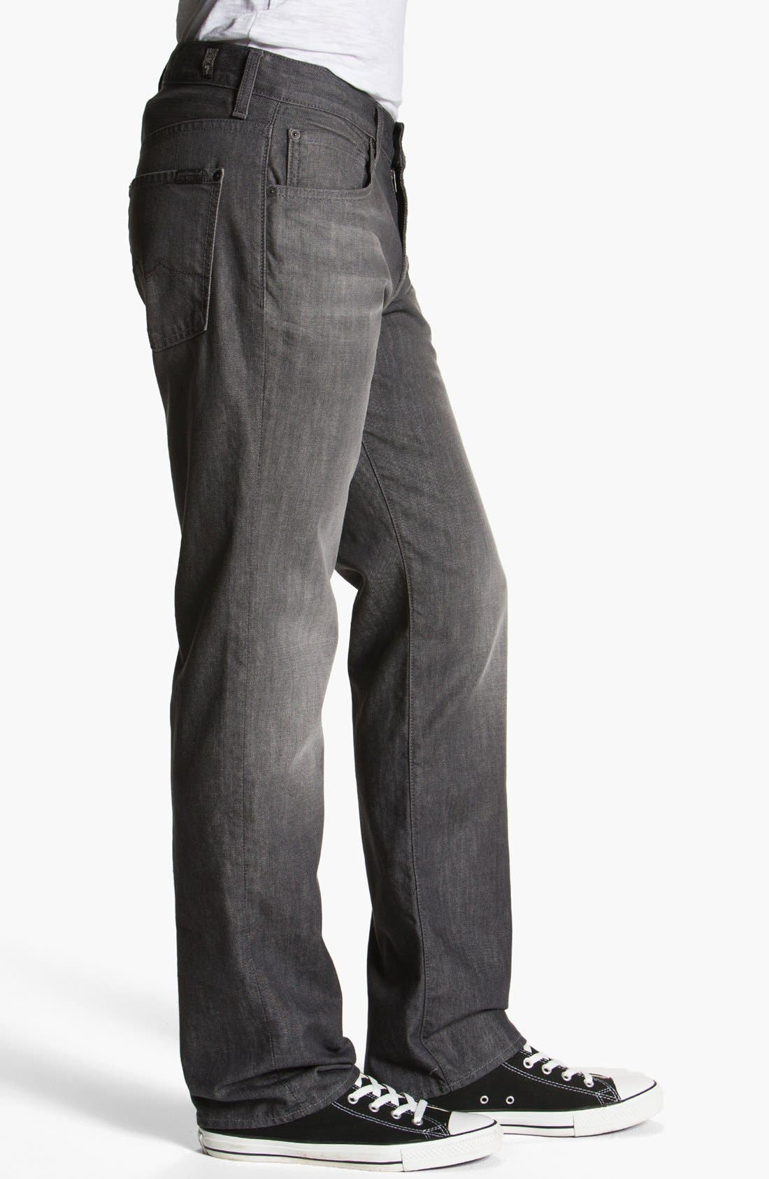 Alternate Image 3  - 7 For All Mankind® 'Carsen' Straight Leg Jeans (Sulfur Springs)