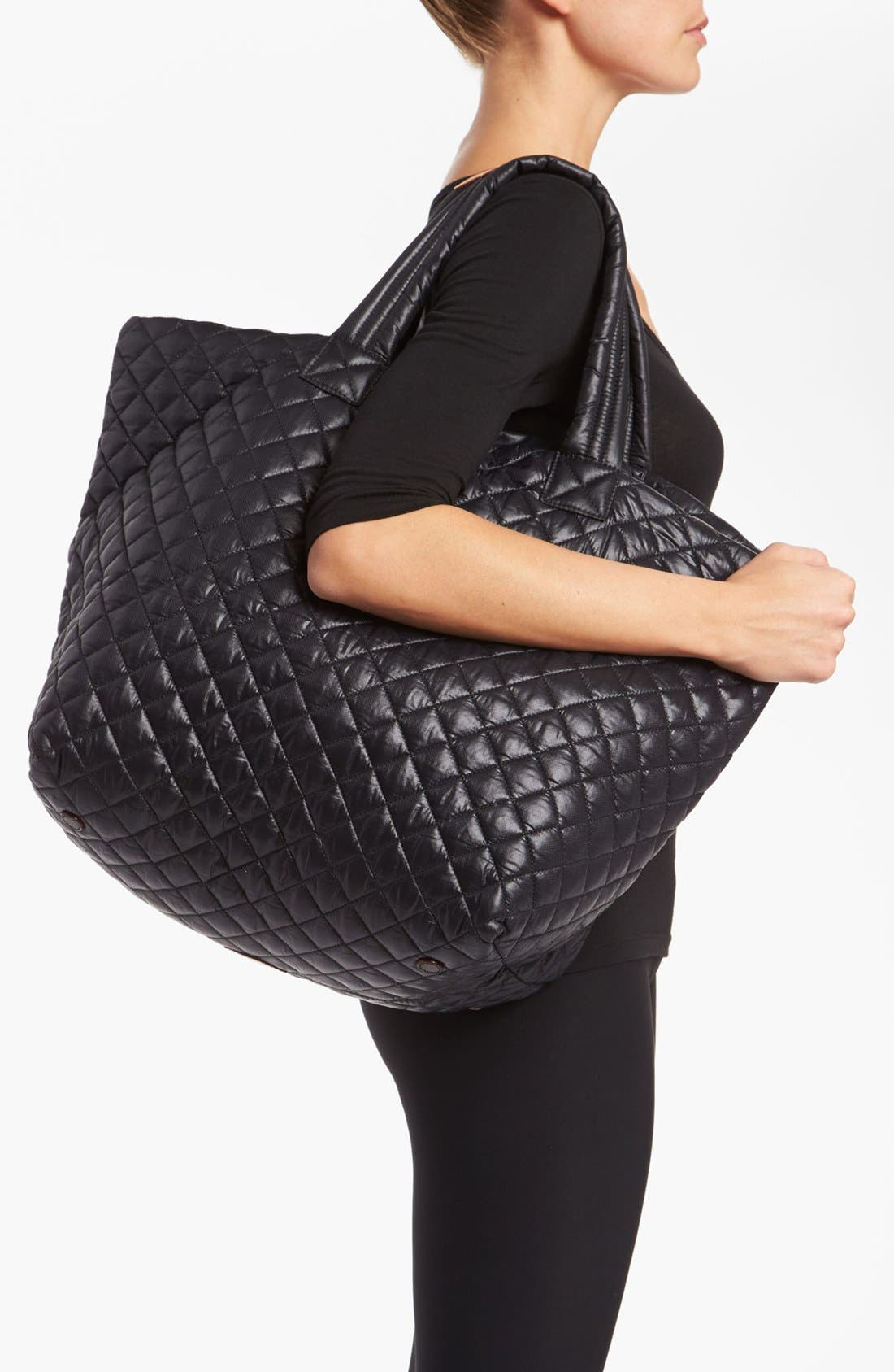 Alternate Image 2  - MZ Wallace 'Large Metro' Quilted Oxford Nylon Tote