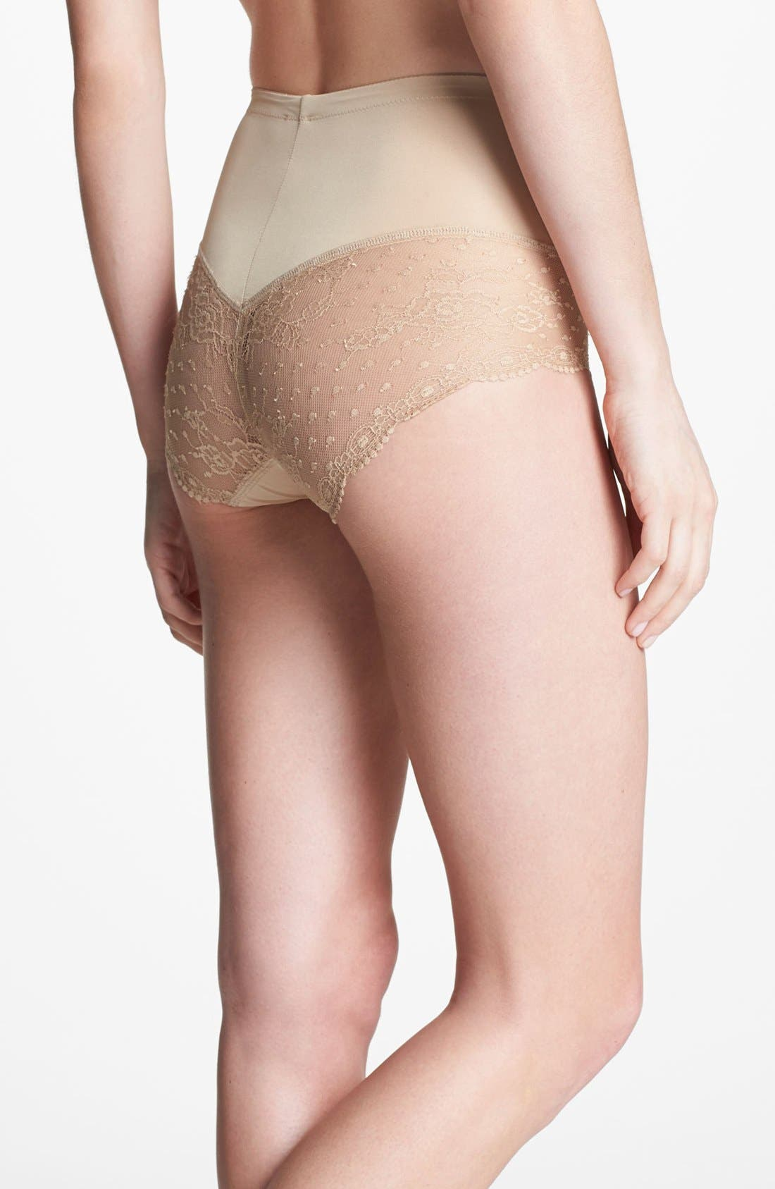 Alternate Image 2  - DKNY 'Lace Curves' Shaping Briefs (Online Only) (2 for $36)