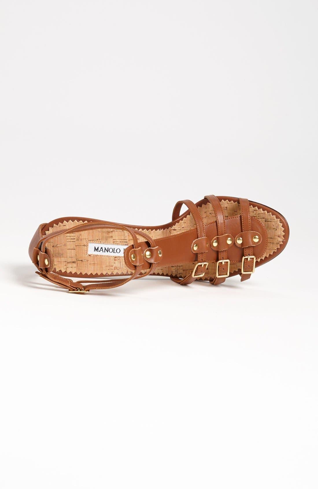 Alternate Image 3  - Manolo Blahnik 'Axes' Sandal