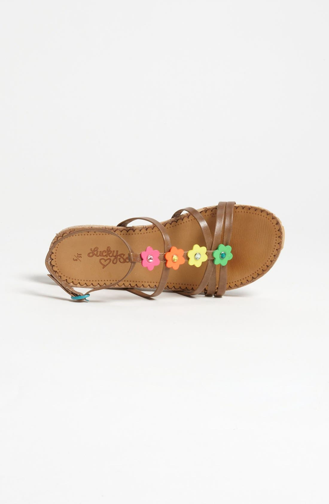 Alternate Image 3  - Lucky Sole 'Solara' Sandal (Little Kid & Big Kid)