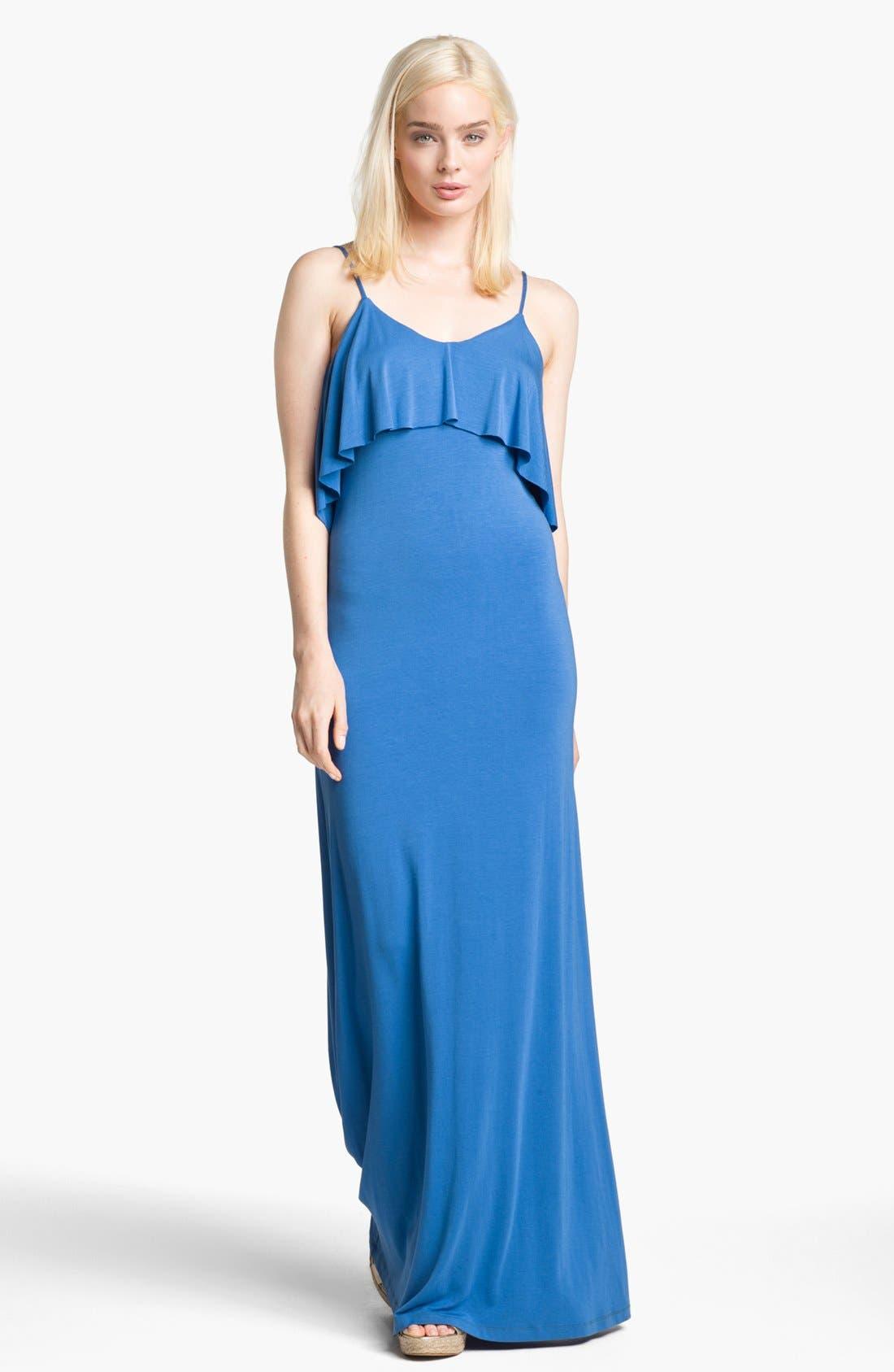 Alternate Image 1 Selected - Tart 'Geni' Ruffled Maxi Dress