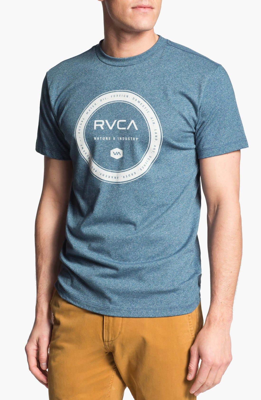 Alternate Image 1 Selected - RVCA 'Wheel' Graphic T-Shirt