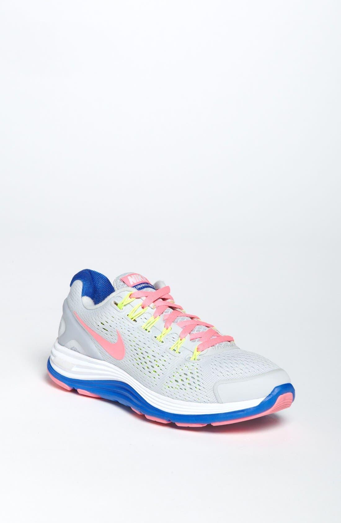 Alternate Image 1 Selected - Nike 'LunarGlide 4' Running Shoe (Big Kid)