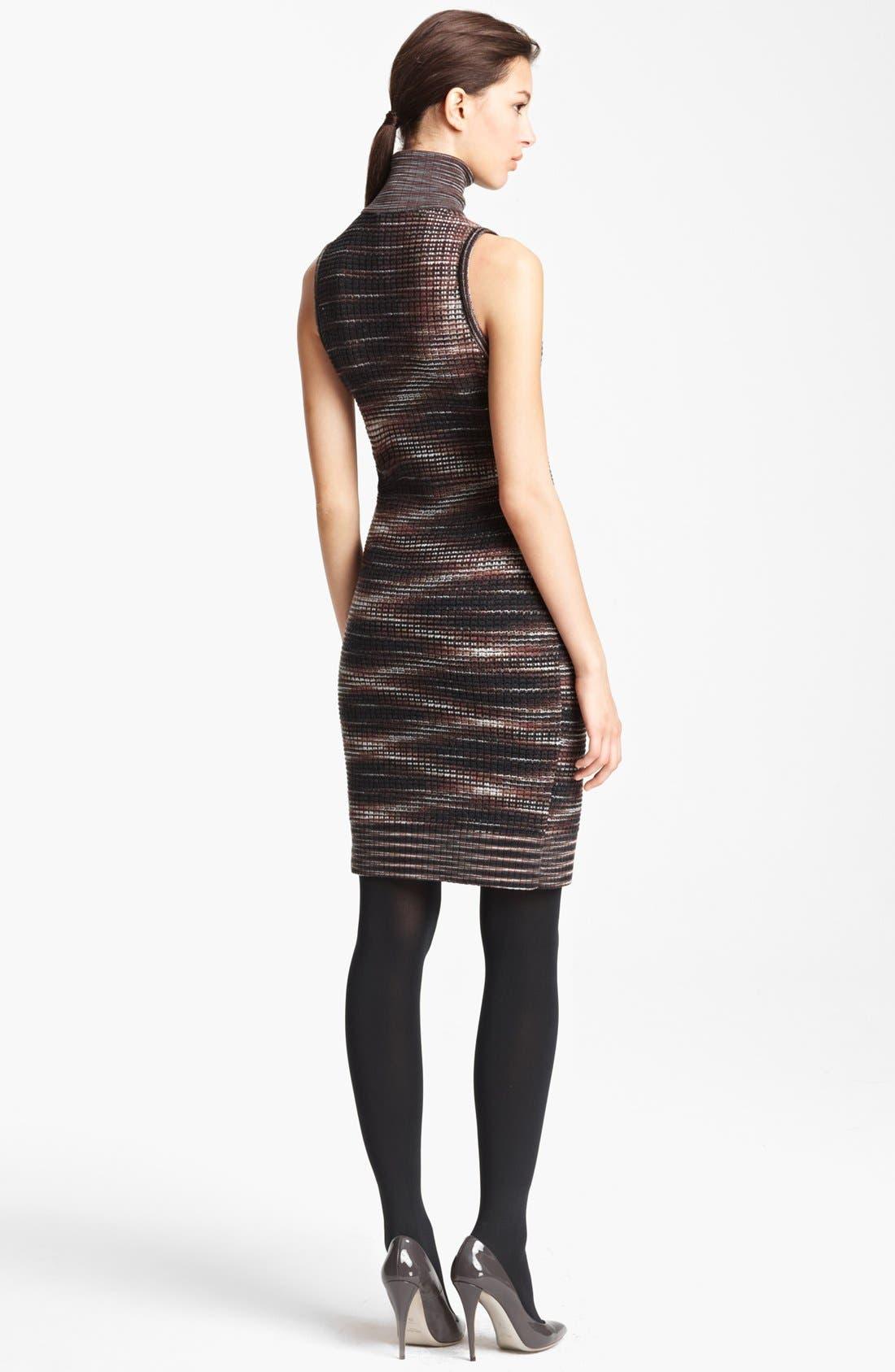 Alternate Image 2  - Missoni Stripe Turtleneck Dress
