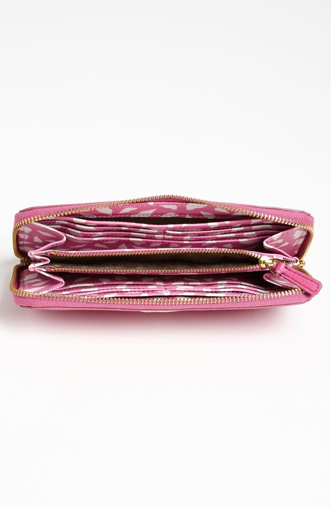 Alternate Image 2  - Diane von Furstenberg 'Lips' Leather Wallet