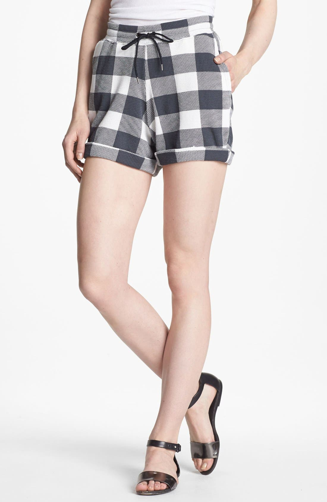 Alternate Image 1 Selected - MARC BY MARC JACOBS 'Harry' Cuff Shorts
