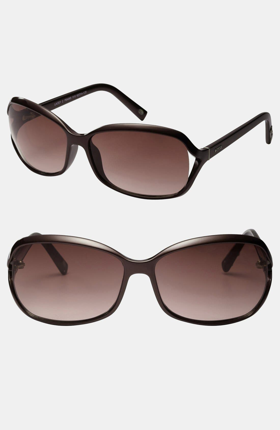 Alternate Image 1 Selected - Fossil 'Lacey 2' 62mm Sunglasses