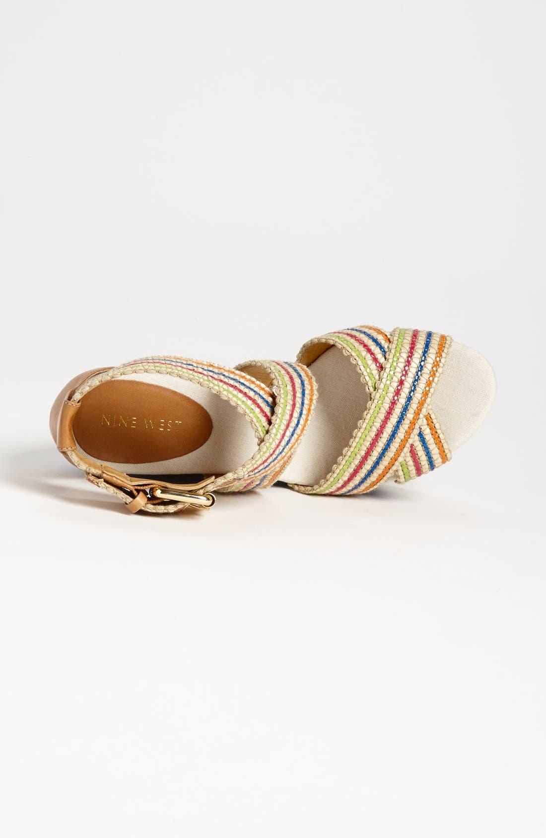 Alternate Image 3  - Nine West 'Mitchell' Wedge Sandal