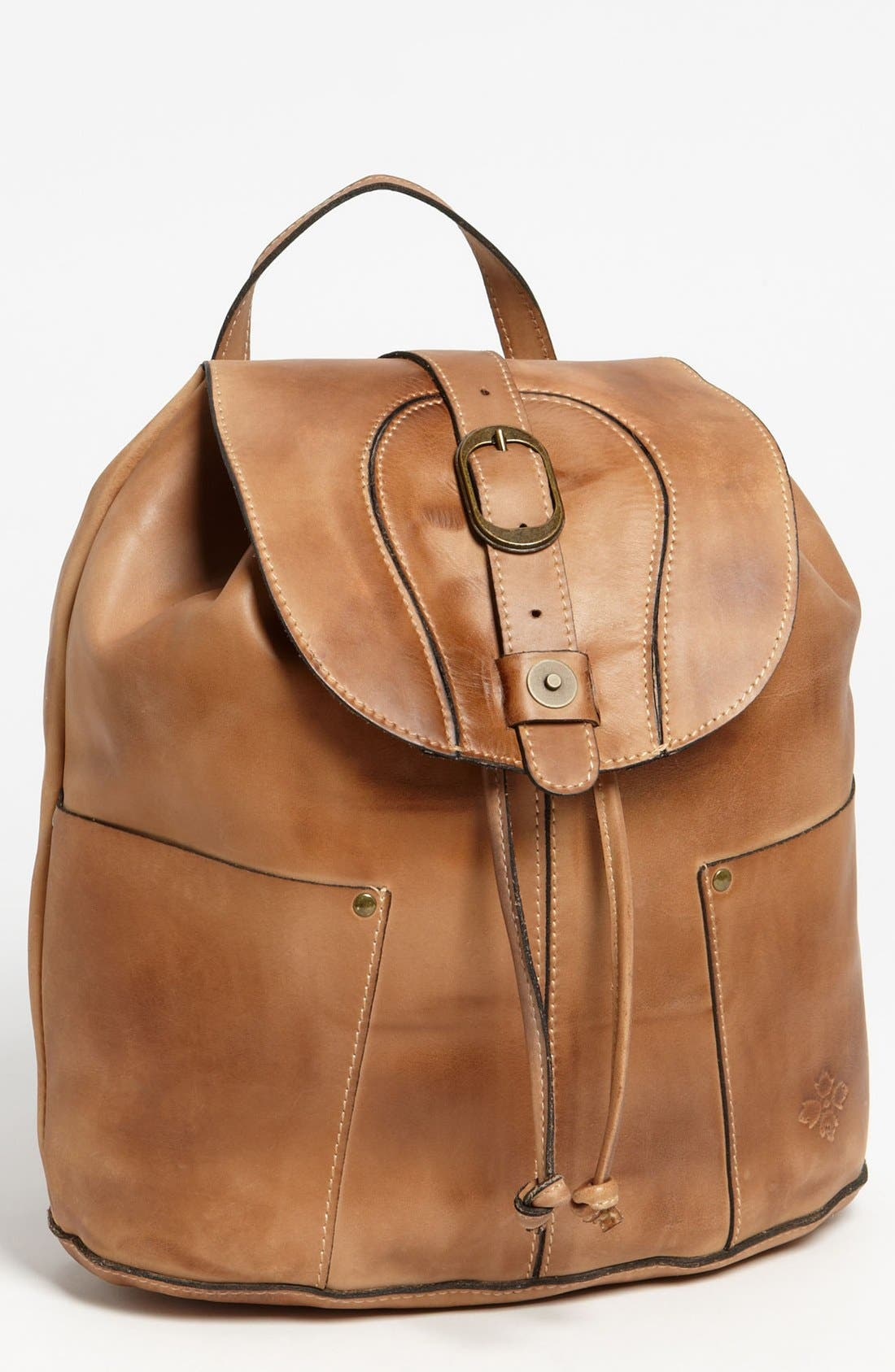 Main Image - Patricia Nash 'Vasto' Leather Backpack