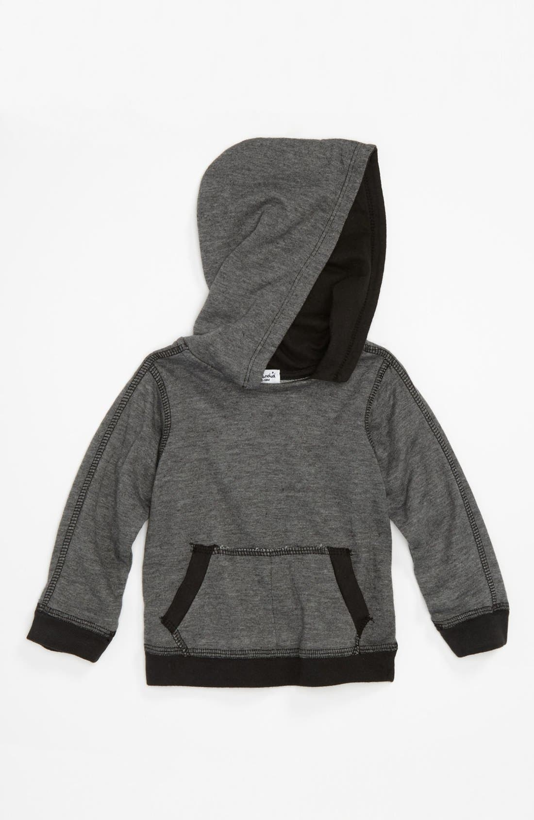 Alternate Image 1 Selected - Splendid Heathered Hoodie (Baby & Toddler)
