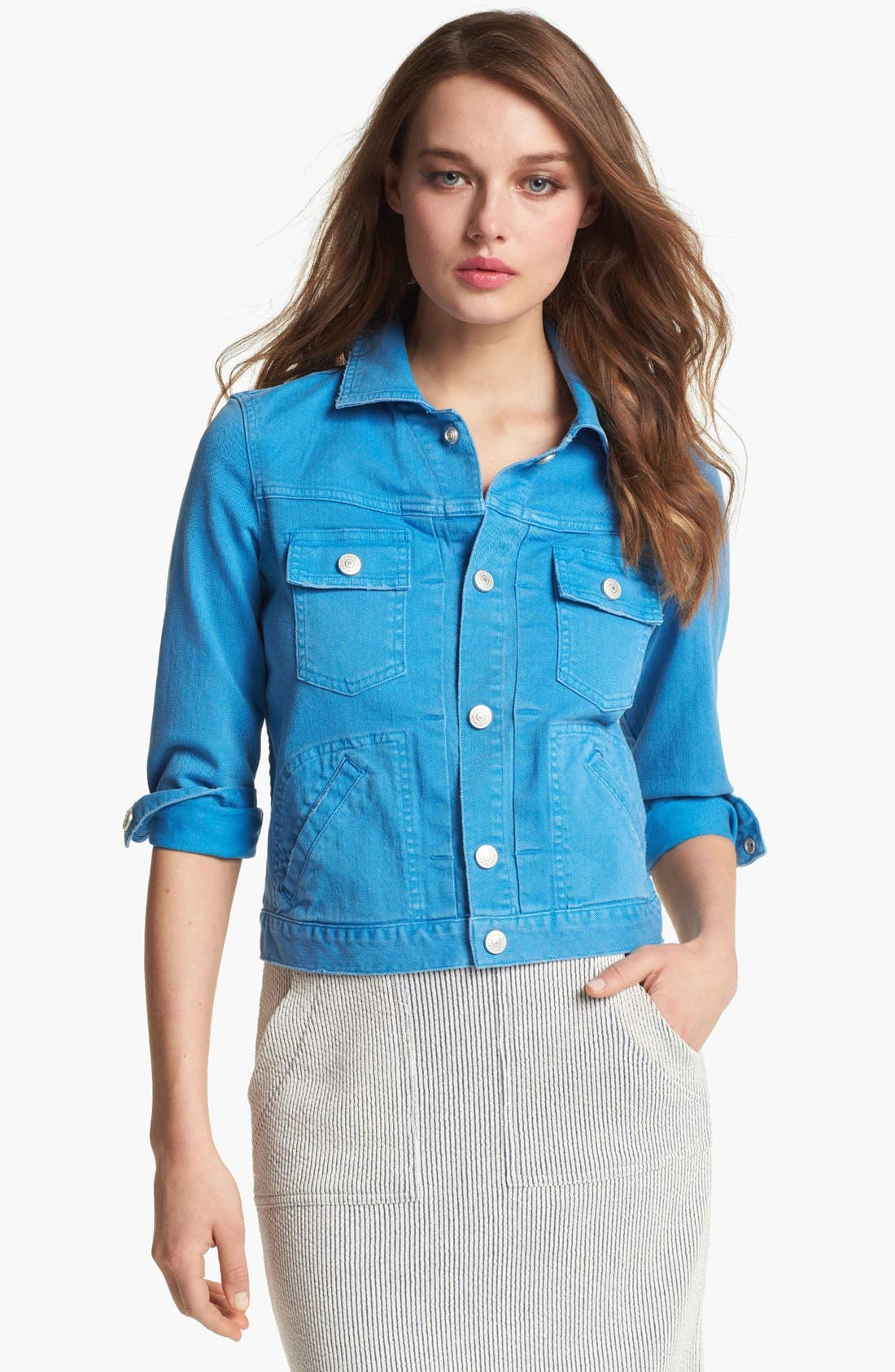 Alternate Image 1 Selected - MARC BY MARC JACOBS 'Lily' Denim Jacket