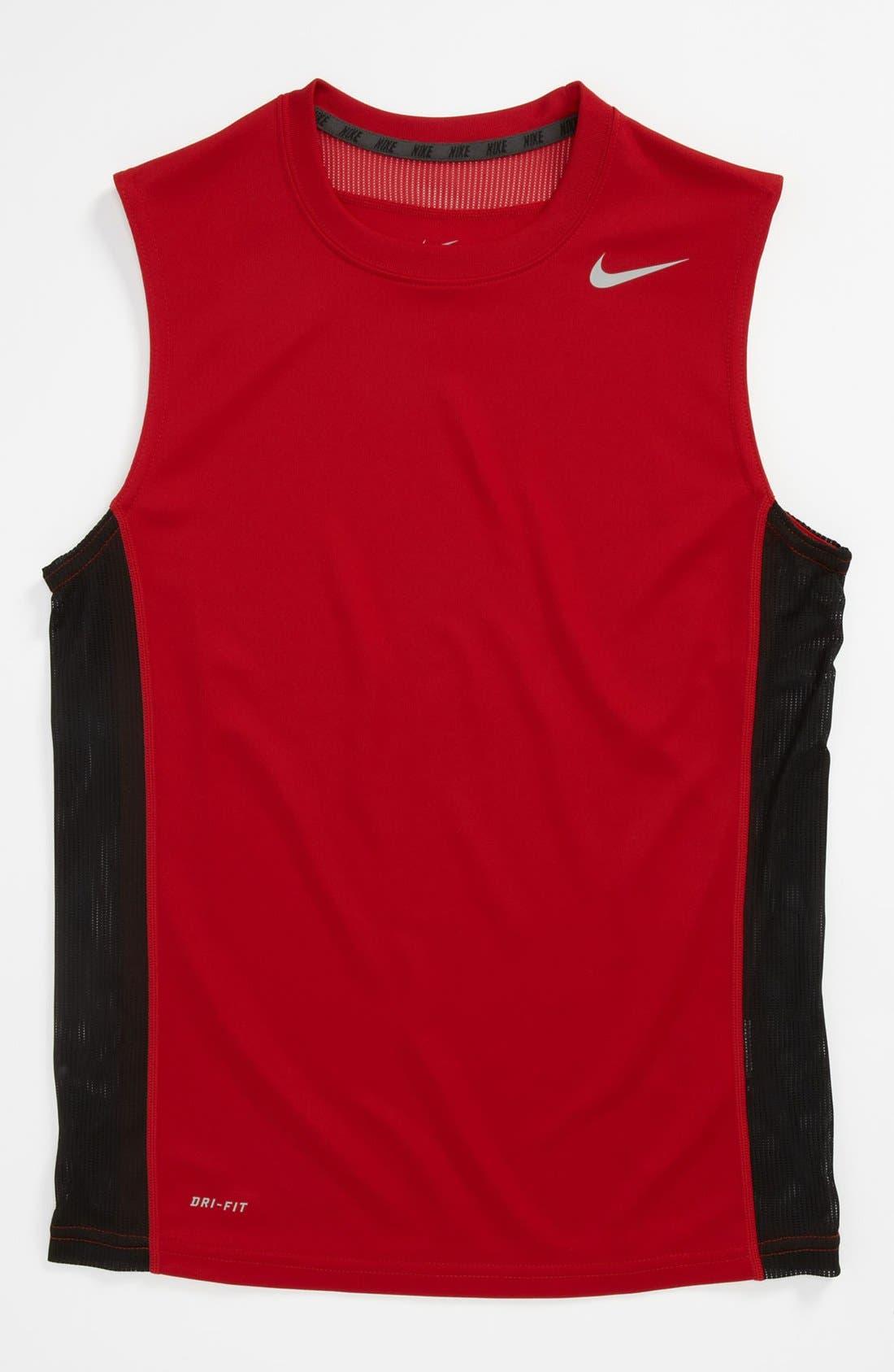 Alternate Image 1 Selected - Nike 'Speed Fly' Top (Big Boys)