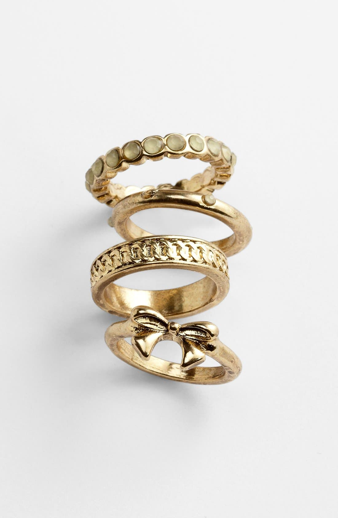 Alternate Image 1 Selected - Carole Stackable Rings (Set of 4)